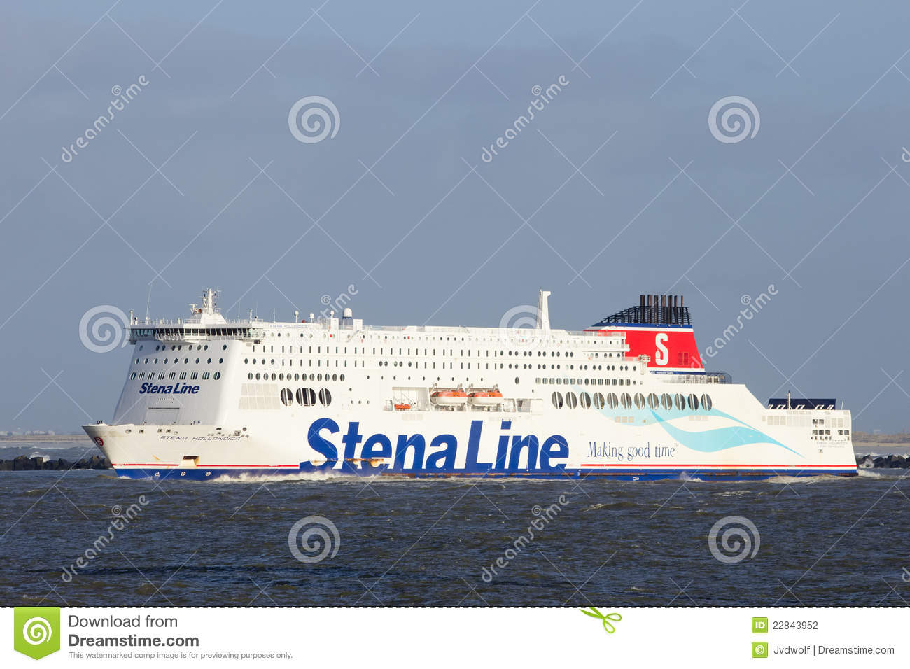 Stena Line ferry ship editorial photography  Image of ferry