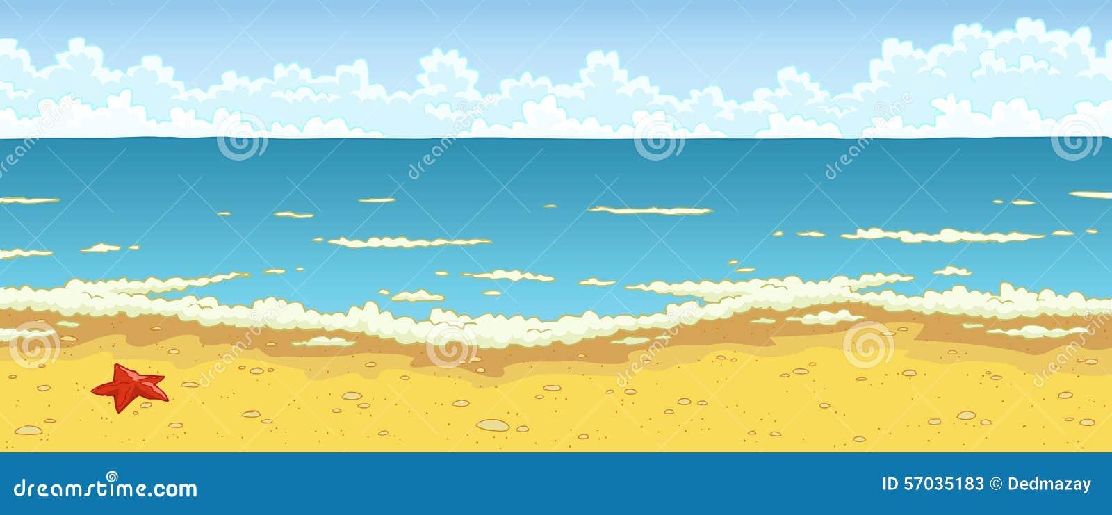 Stenar i hav bevattnar