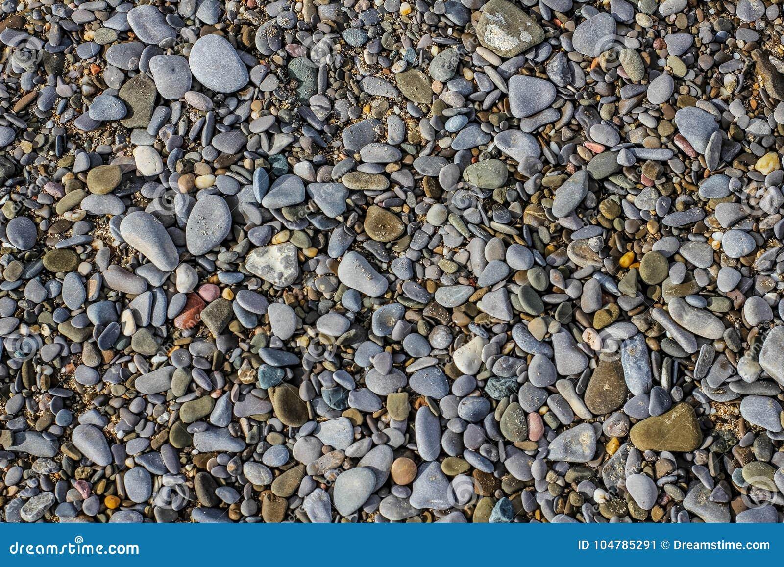 Stenar på sanden