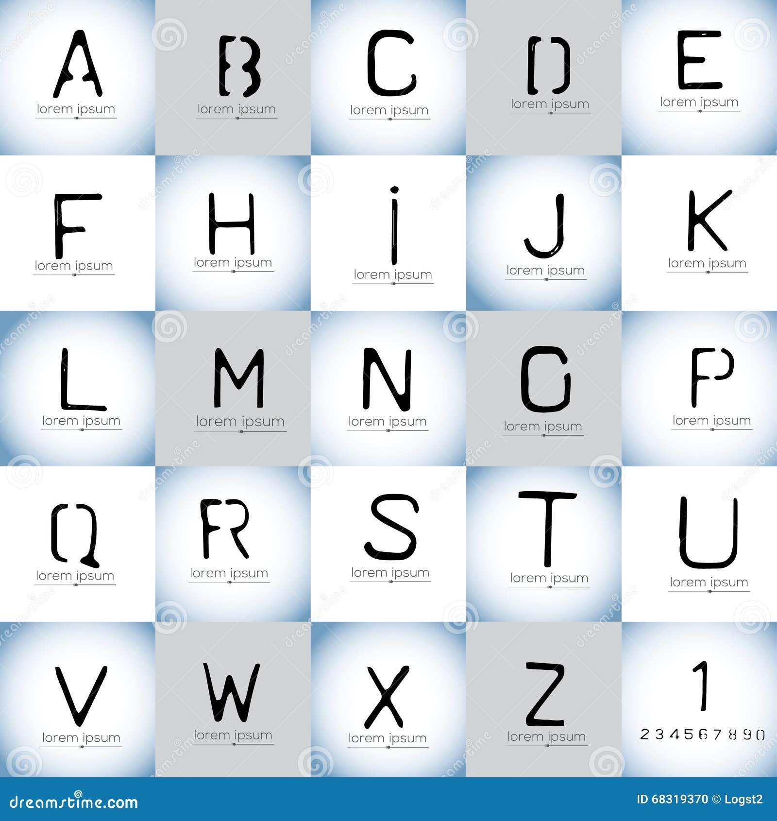 32  Cool Logo Design For for Logo Design For Alphabets  110zmd