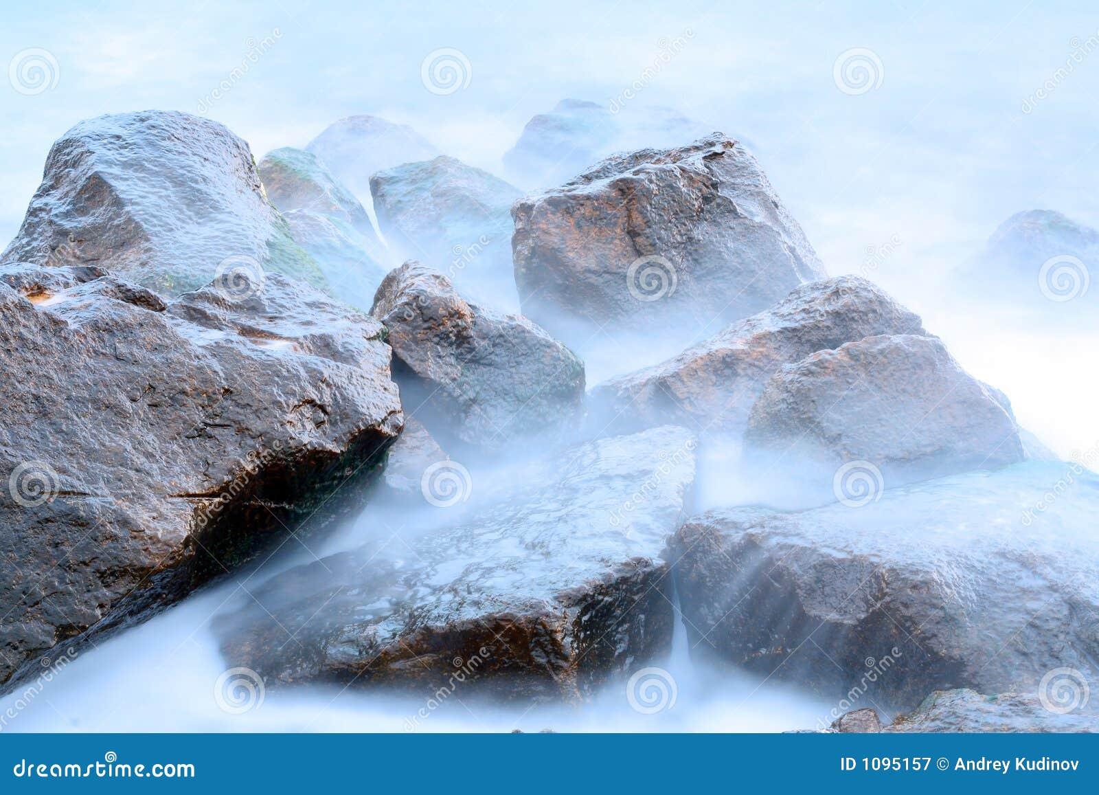 Stenen en overzees