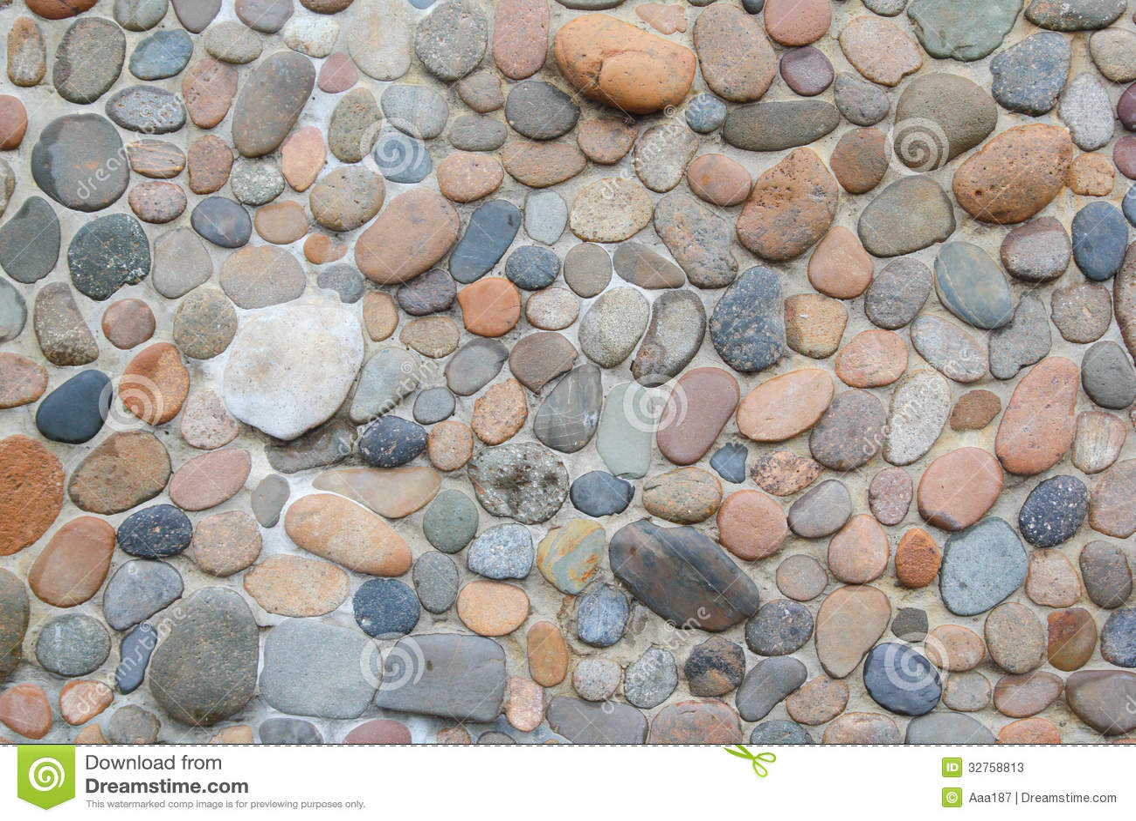 Stenen vaggar golvmodellen