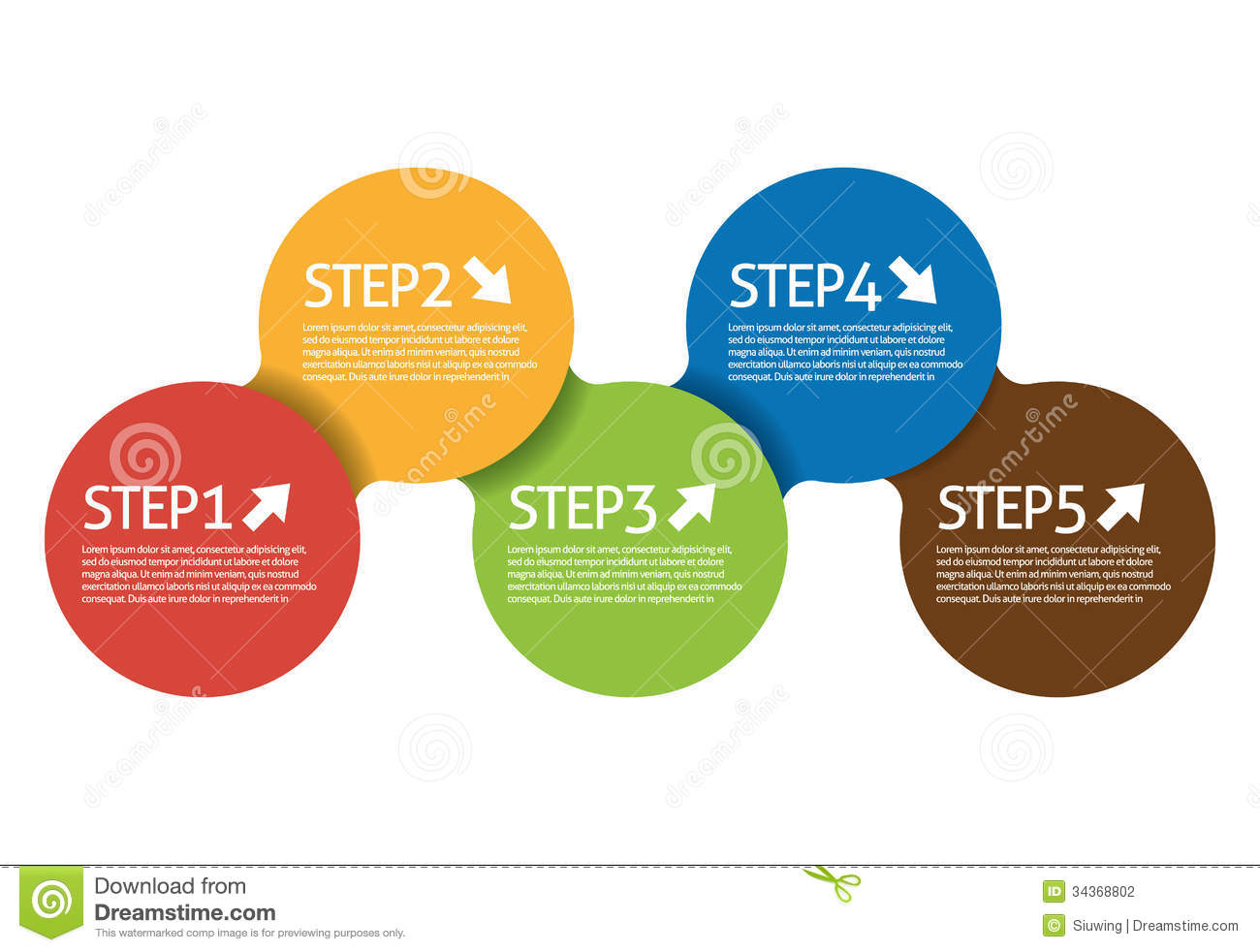 Step Circle Stock Photography - Image: 34368802