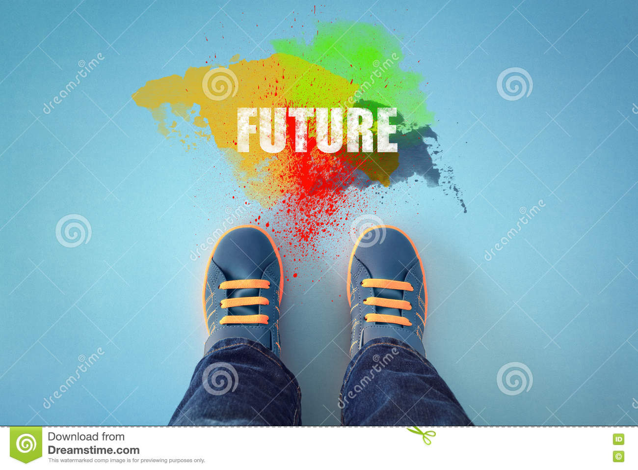 step into the future stock photo image 71122911