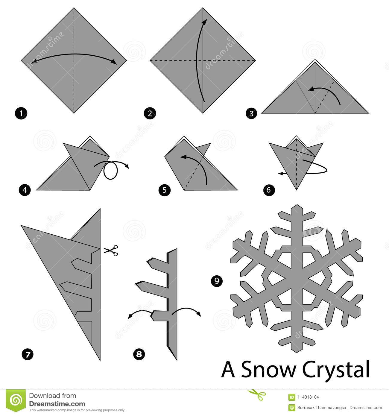 How to Make an Origami Diamond (with Pictures) - wikiHow   1390x1300