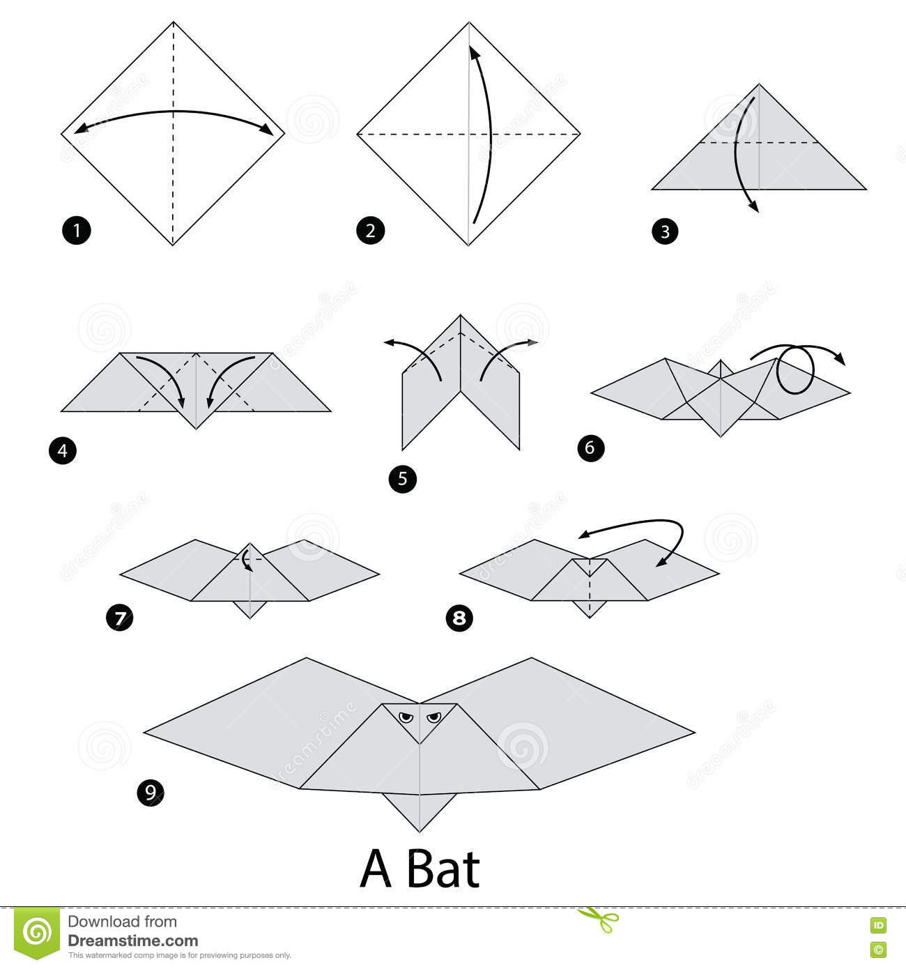 Halloween Decoration? : Paper Bat (8) Paper Bag Want To Make Your Own?