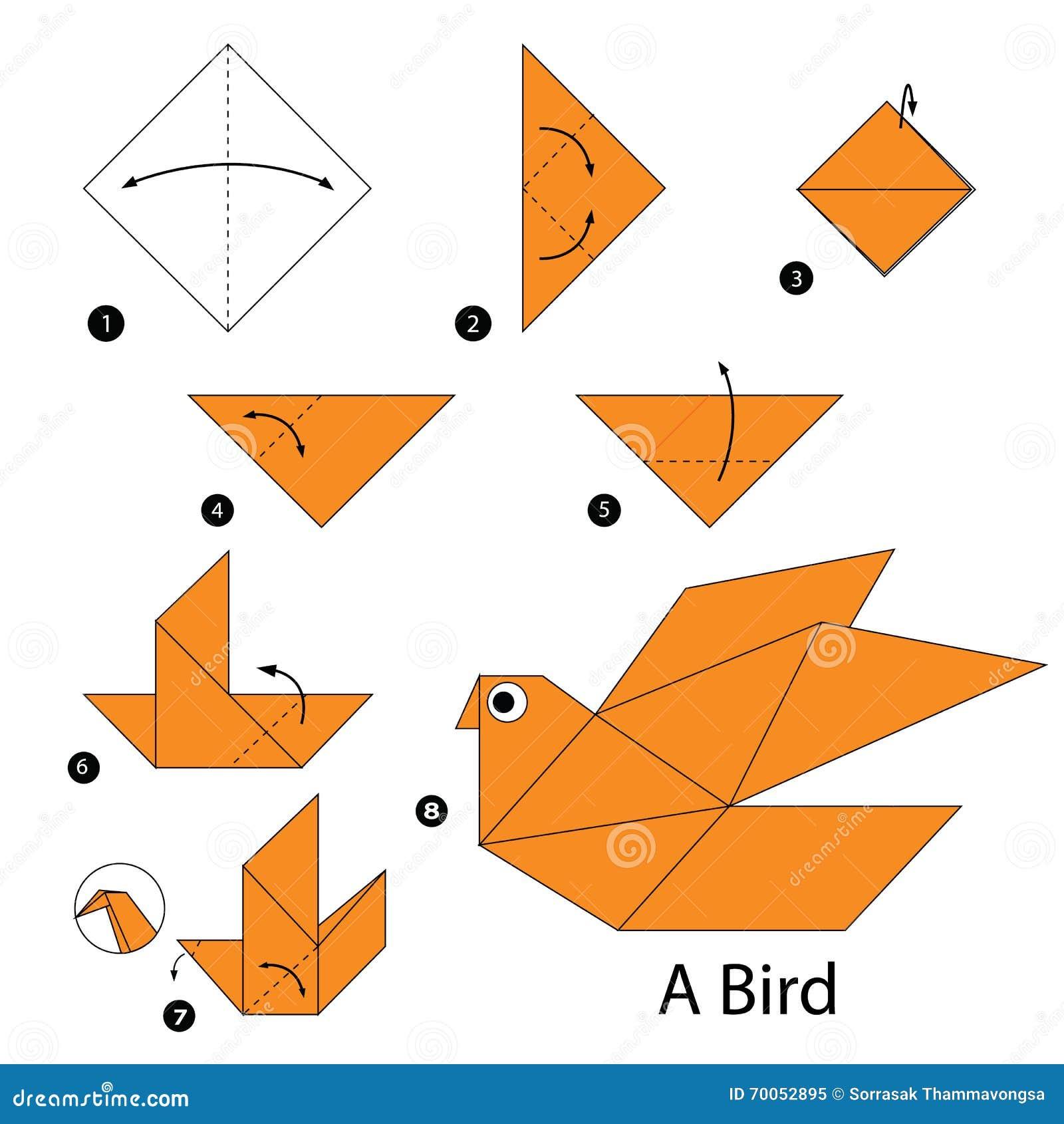 Поделки из бумаги для детей 5-6 лет, мастер-классы поэтапно 70