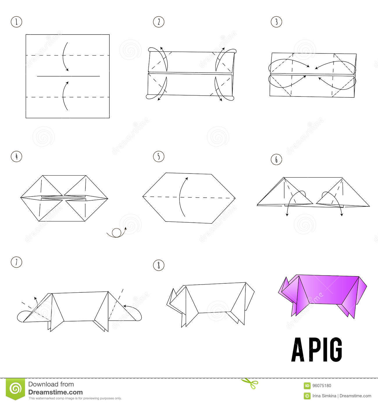 origami bird instructions step by step