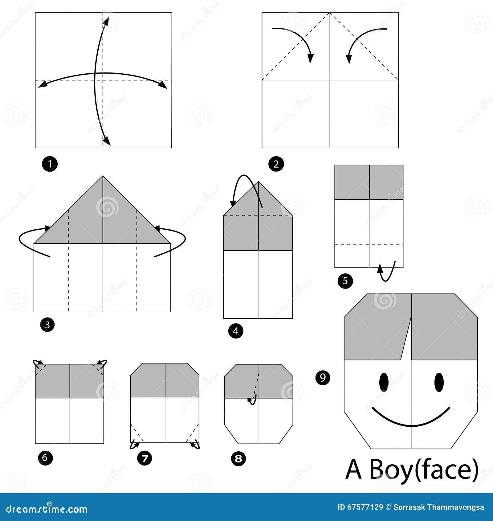 origami for boy | Tutorial Origami Handmade - photo#9