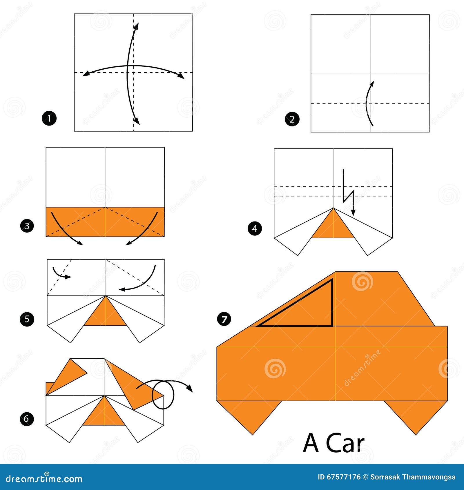 Оригами военная из бумаги схемы