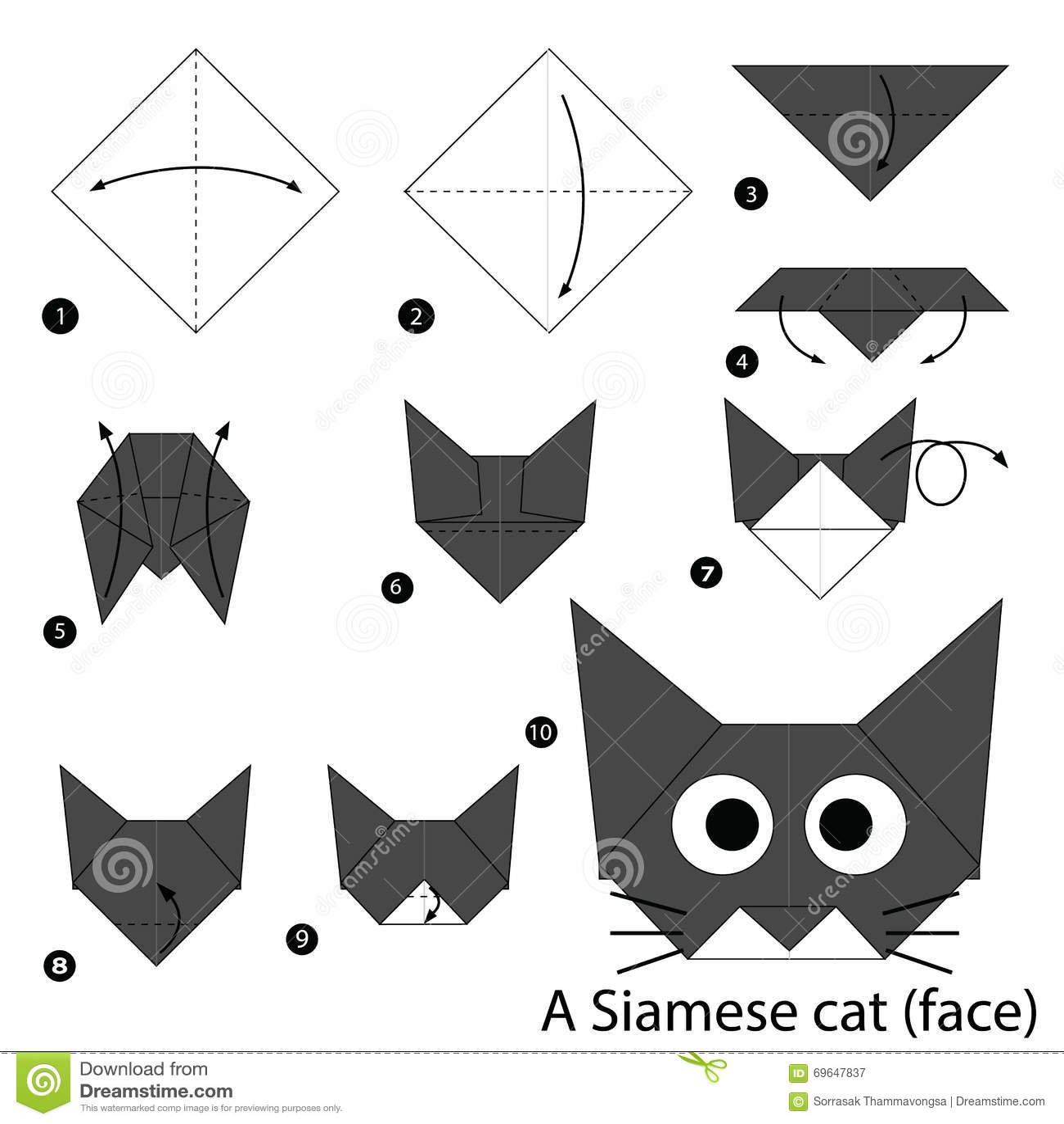Cute Origami Animal Instructions Photo10