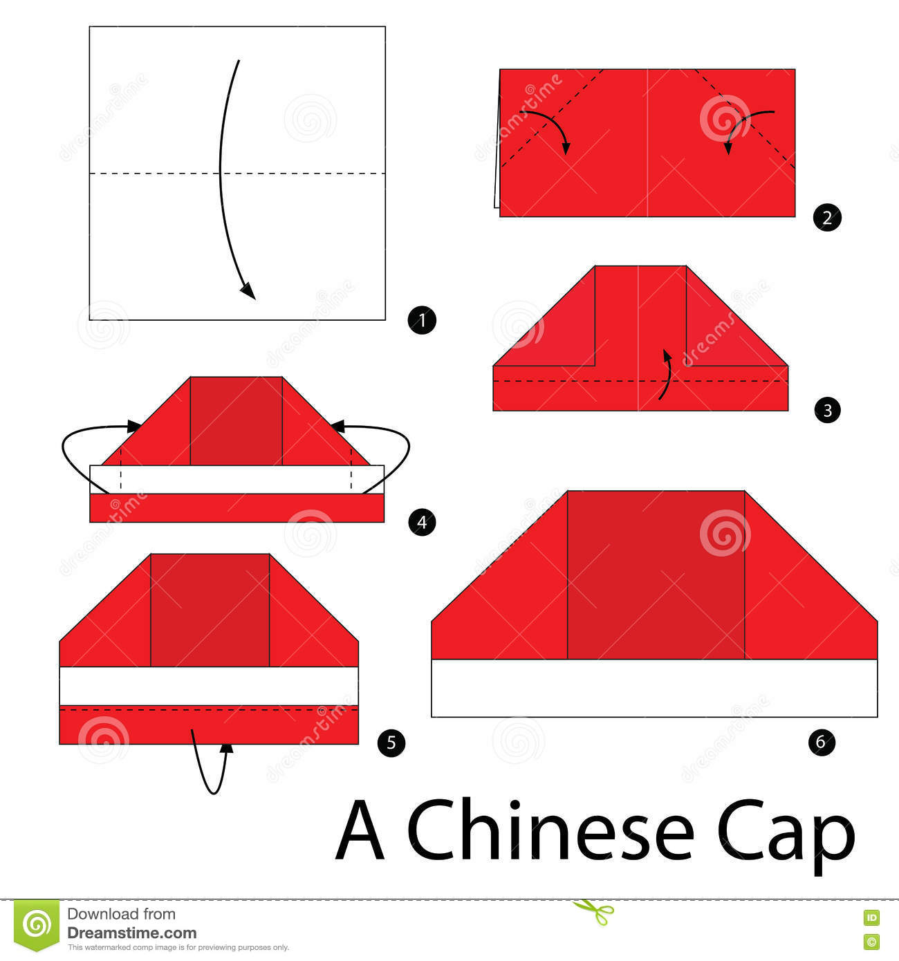 Step By Step Instructions How To Make Origami A Chinese ... - photo#44