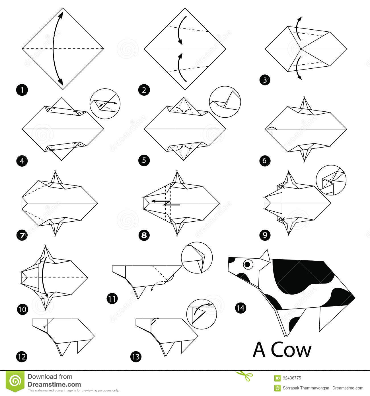 How to make an origami cow images craft decoration ideas how to make an origami cow choice image craft decoration ideas how to make an origami jeuxipadfo Choice Image