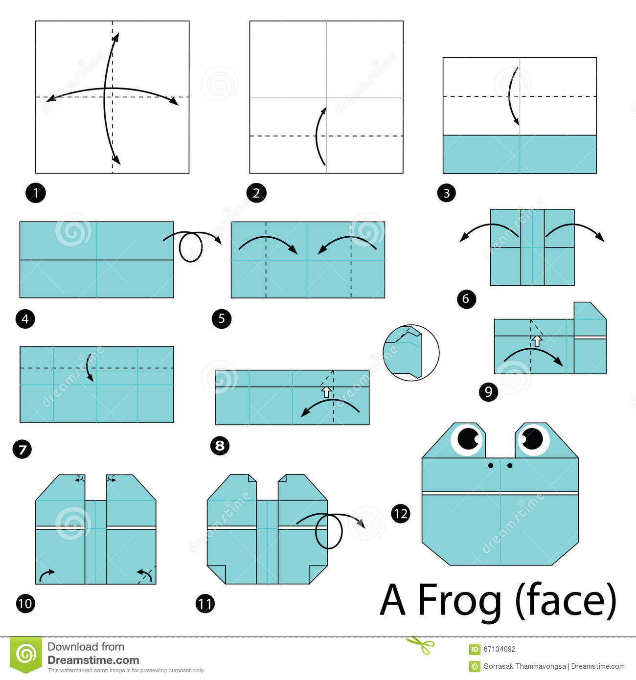 origami jumping frog instructions pdf