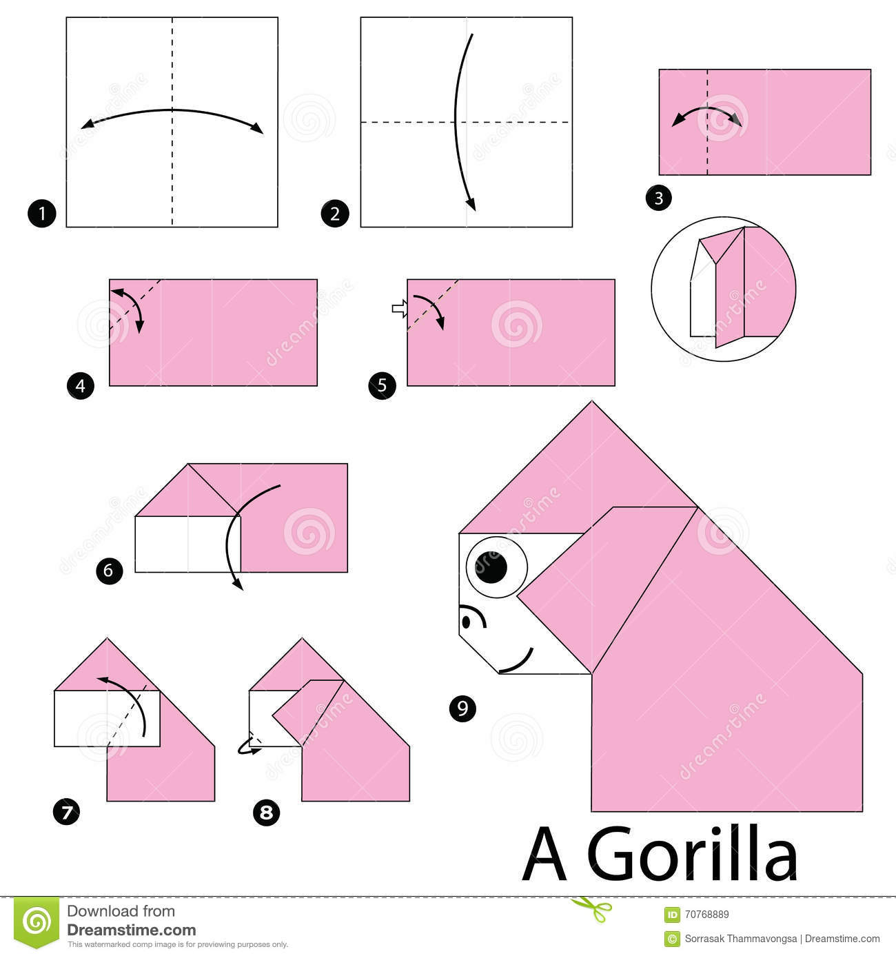 how to make origami animals step by step - 28 images ... - photo#48