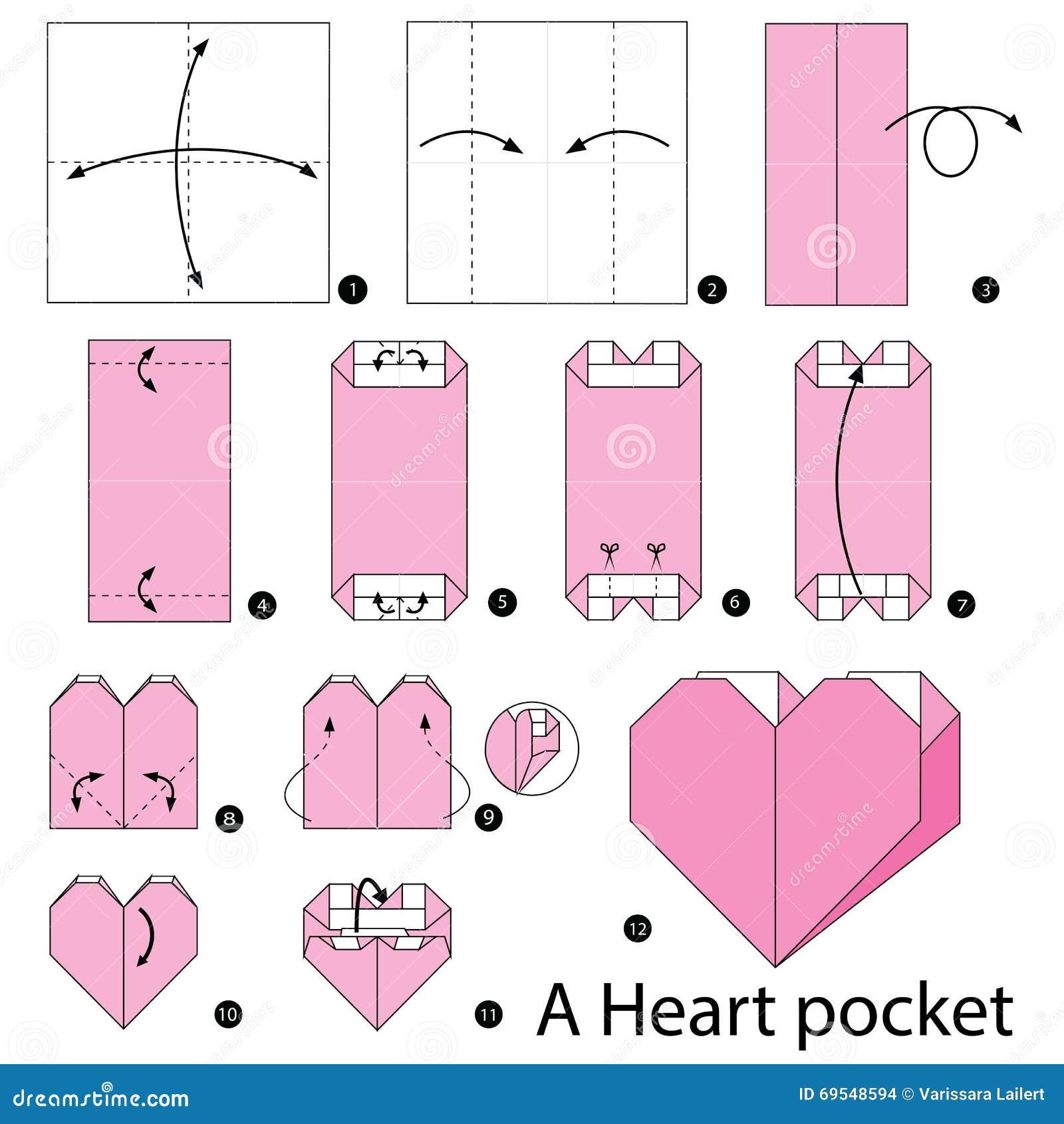 Origami Hearts | 1390x1300