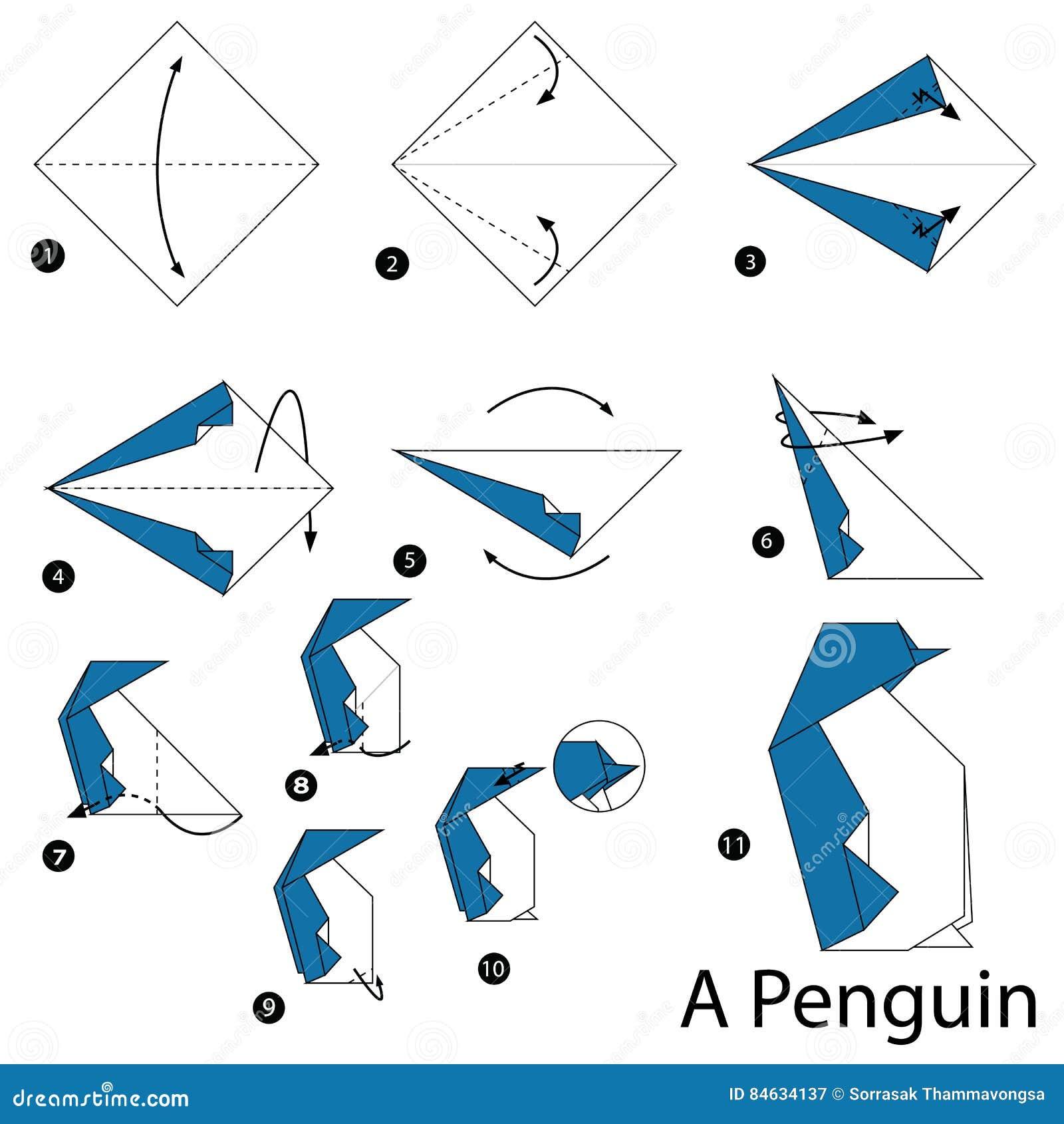 Закладки для книг оригами схемы сборки