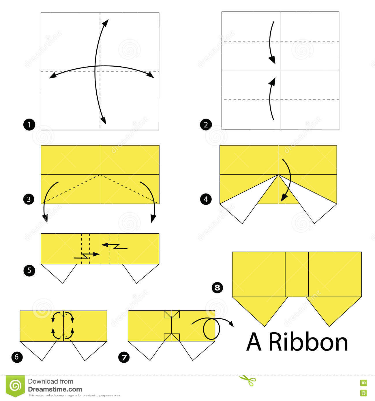 How to make an origami paper bow. — gathering beauty.