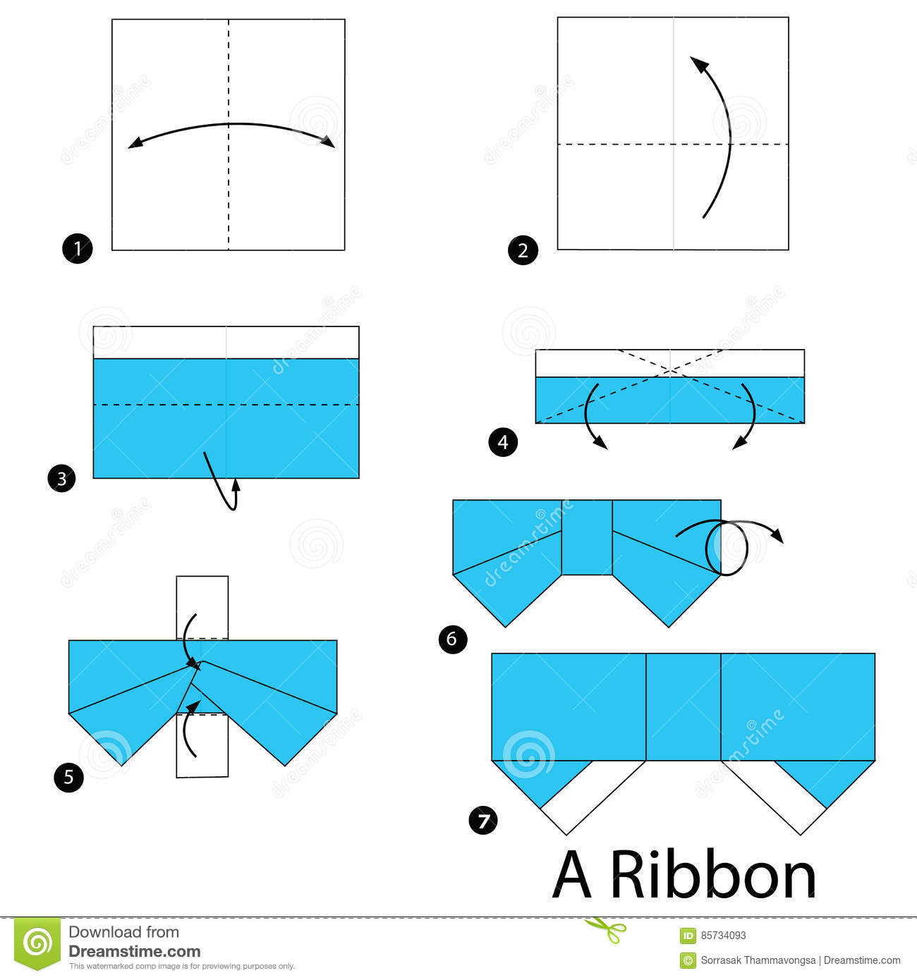 English instructions. I love bows. And now i can teach the kids.