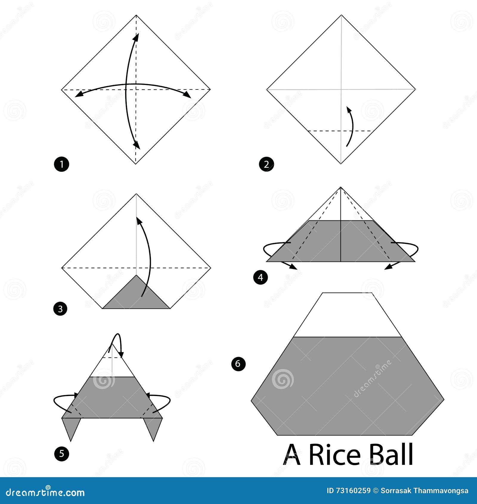 How to make an Origami Spike Ball - YouTube | 1390x1300
