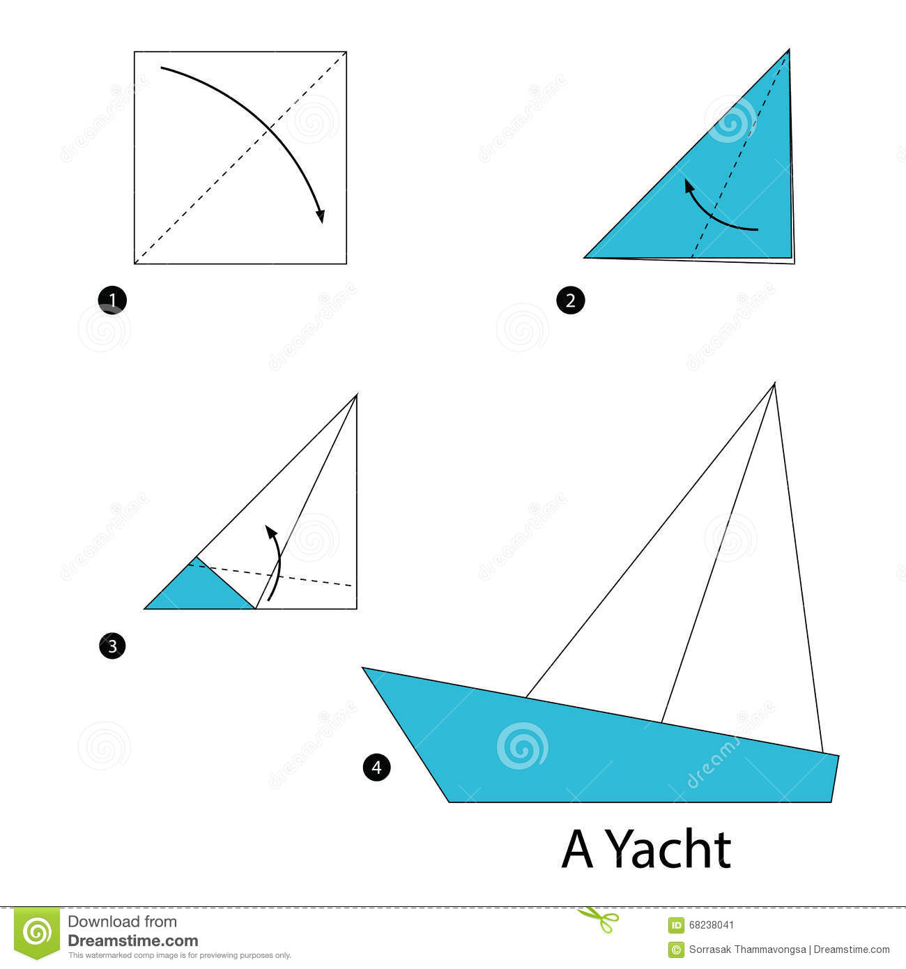 paper boat instructions printable