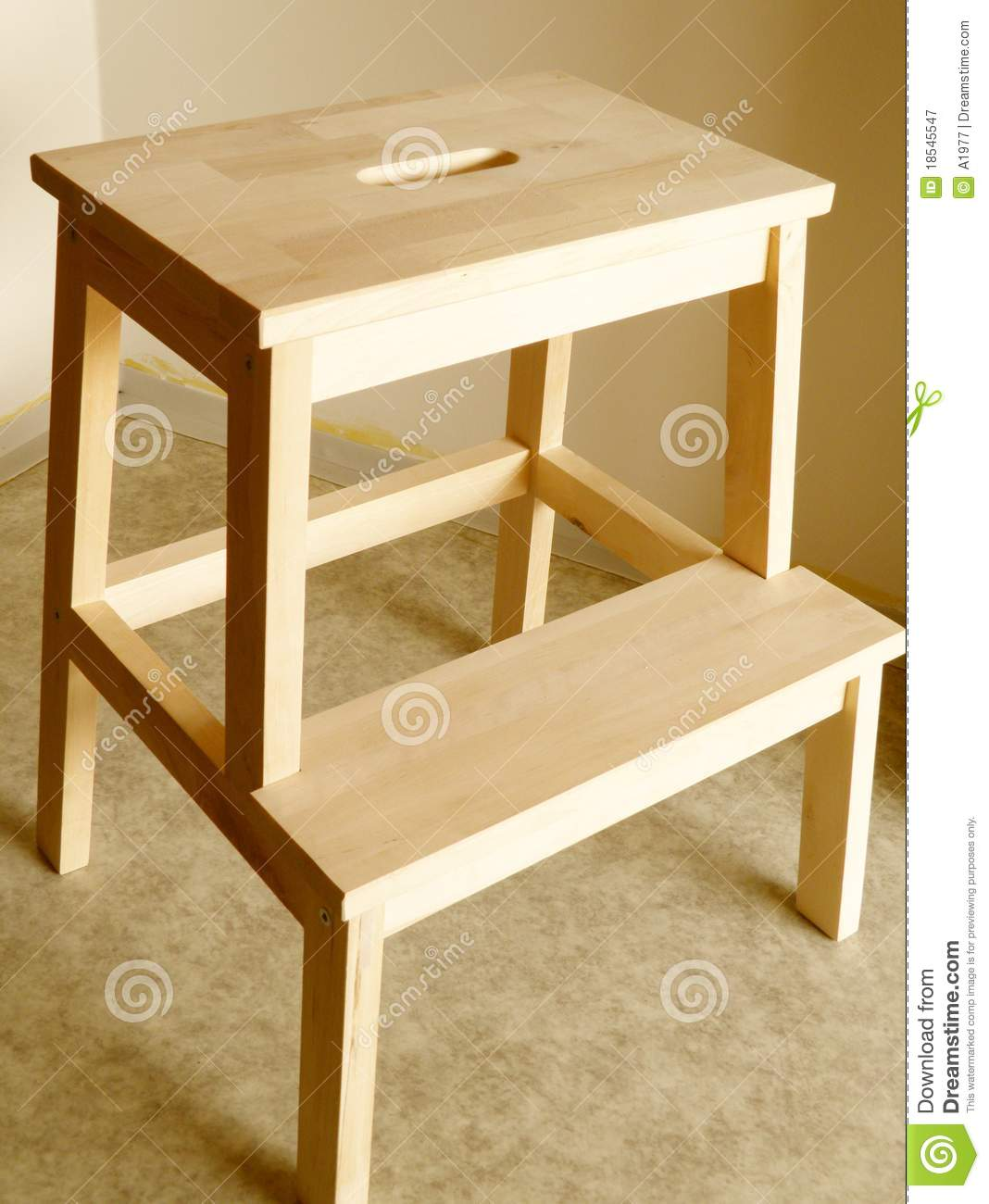 Royalty-Free Stock Photo. Download Step stool ... & Step stool stock image. Image of step wooden object - 18545547 islam-shia.org