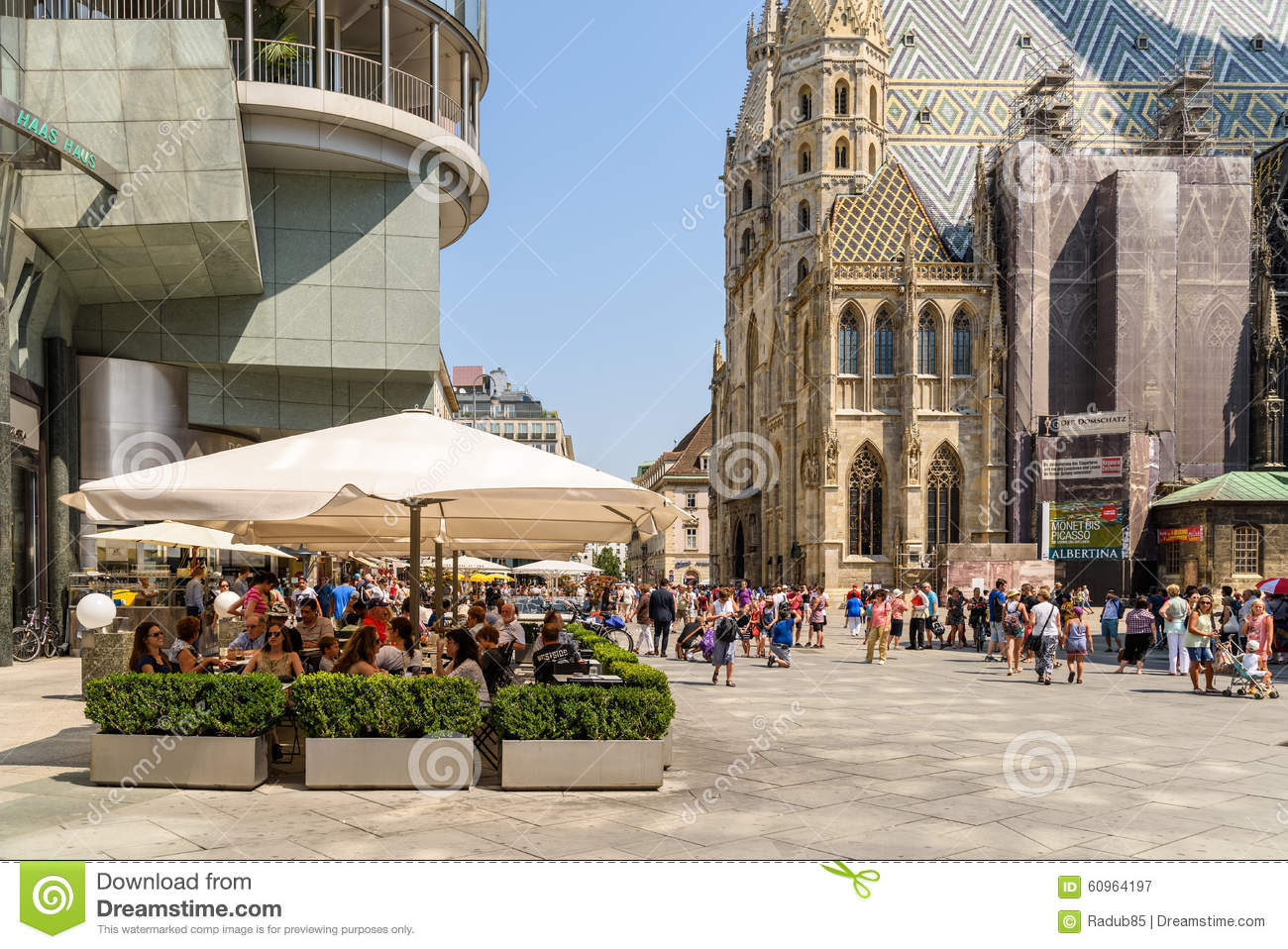 Stephansplatz Square In Vienna