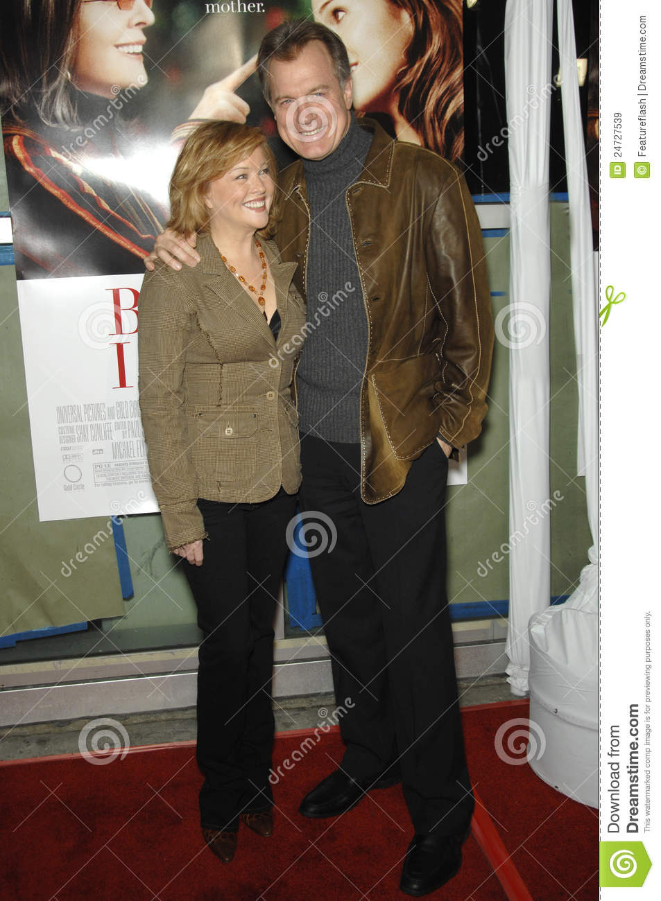 Stephen Collins,Faye Grant editorial stock image  Image of