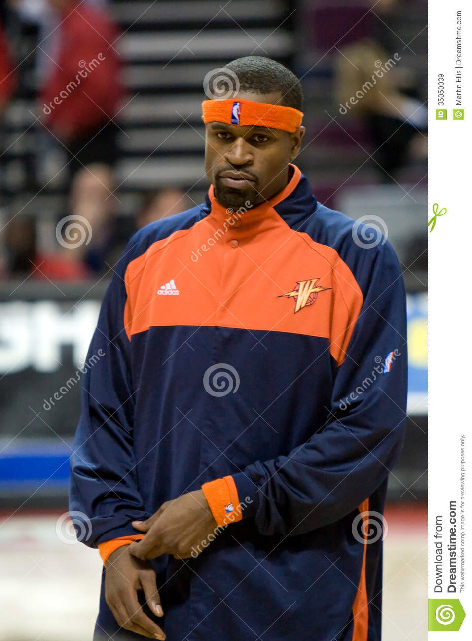 Stephen Jackson Warms Up Editorial Stock Image Image