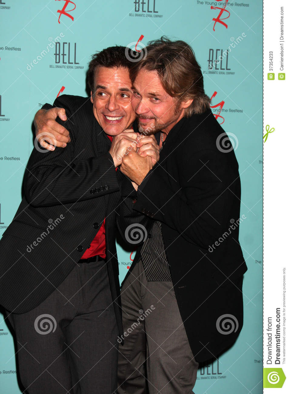Stephen Nichols Christian Leblanc Editorial Stock Photo Image Of Young Hosted 37354233