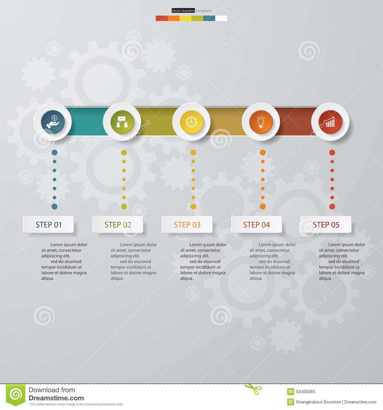 5 steps chart templategraphic or website layout stock vector download 5 steps chart templategraphic or website layout stock vector illustration of ccuart Choice Image