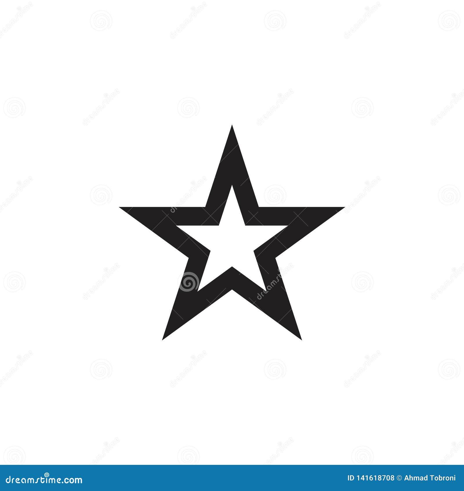 Ster Logo Vector Template Design Illustration