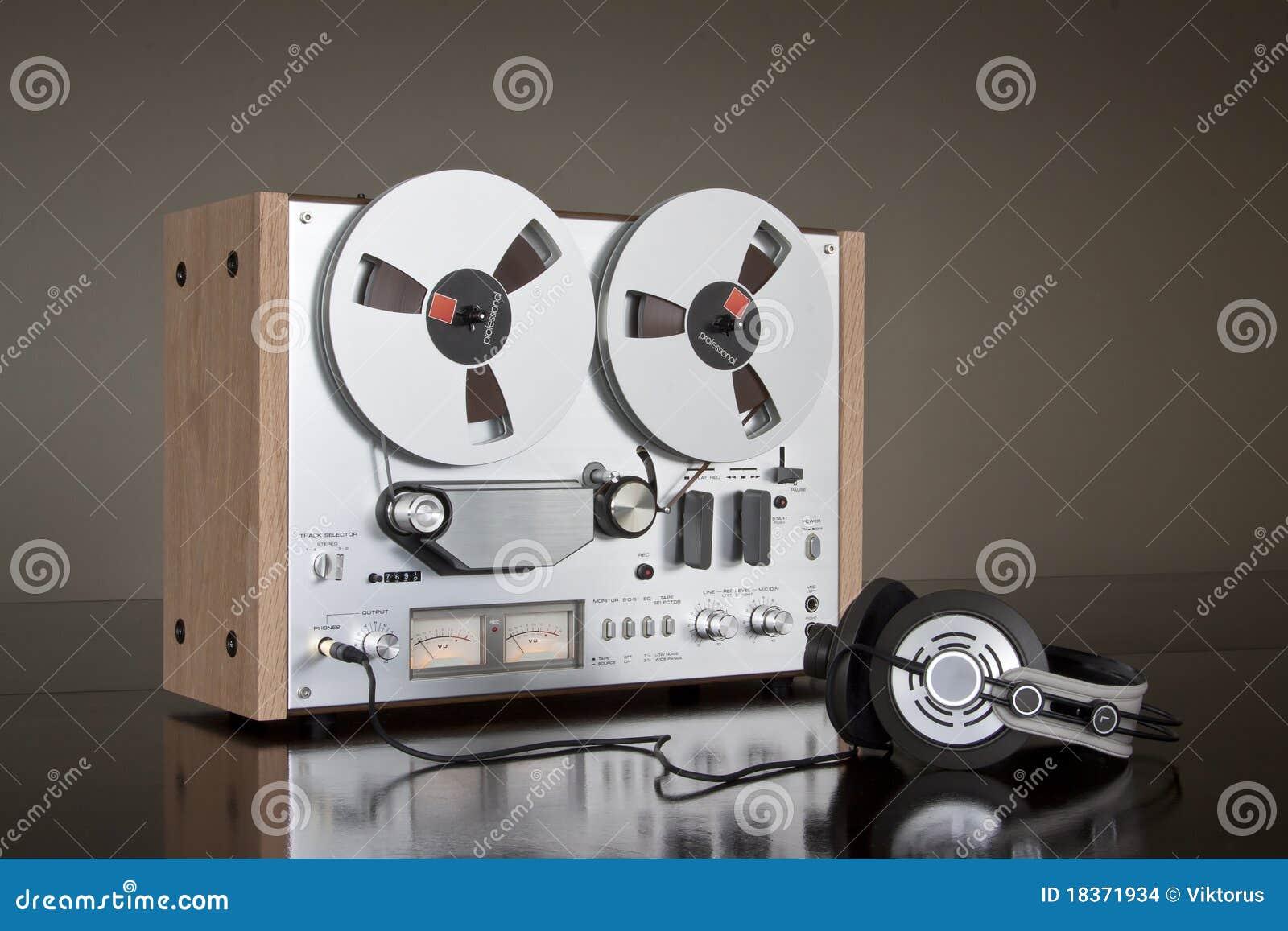 Stereo- band för däcksregistreringsapparatrulle till tappning