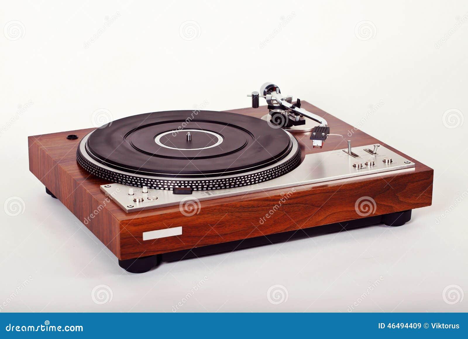 Analog Angle Player Record Retro Stereo Turntable ...