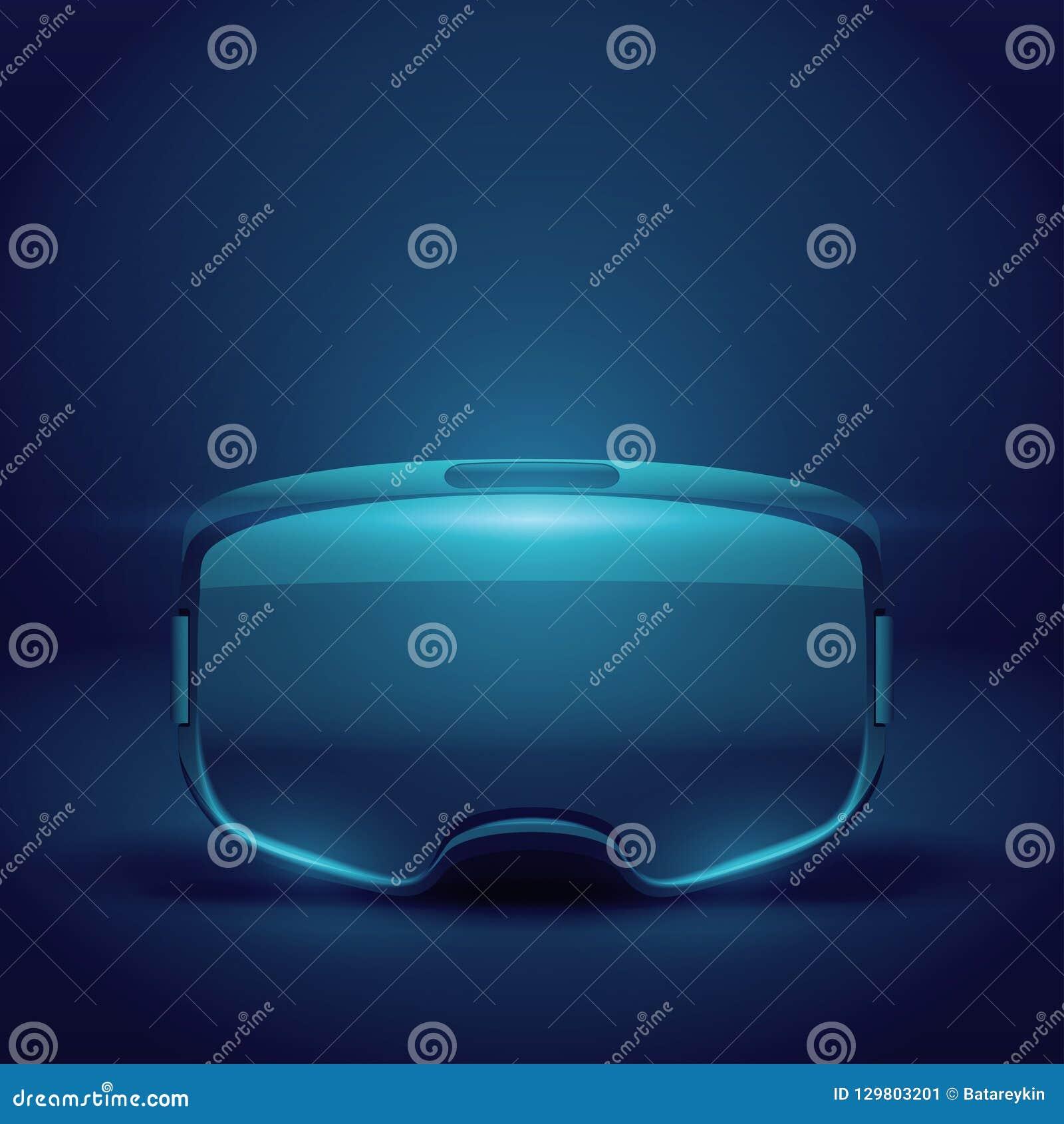 Stereoscopische 3d VR-hoofdtelefoonpresentatie