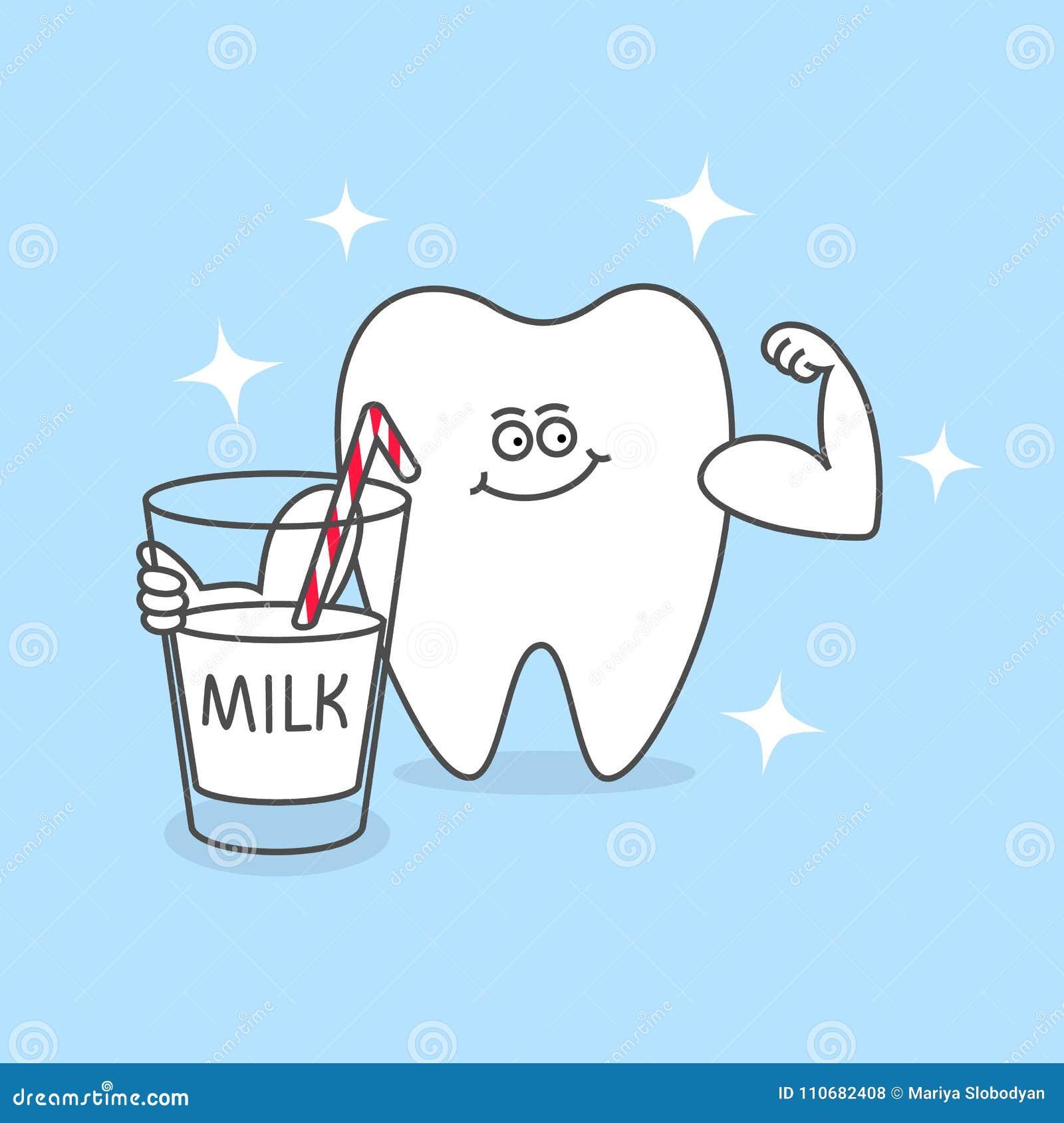 melk goed voor tanden
