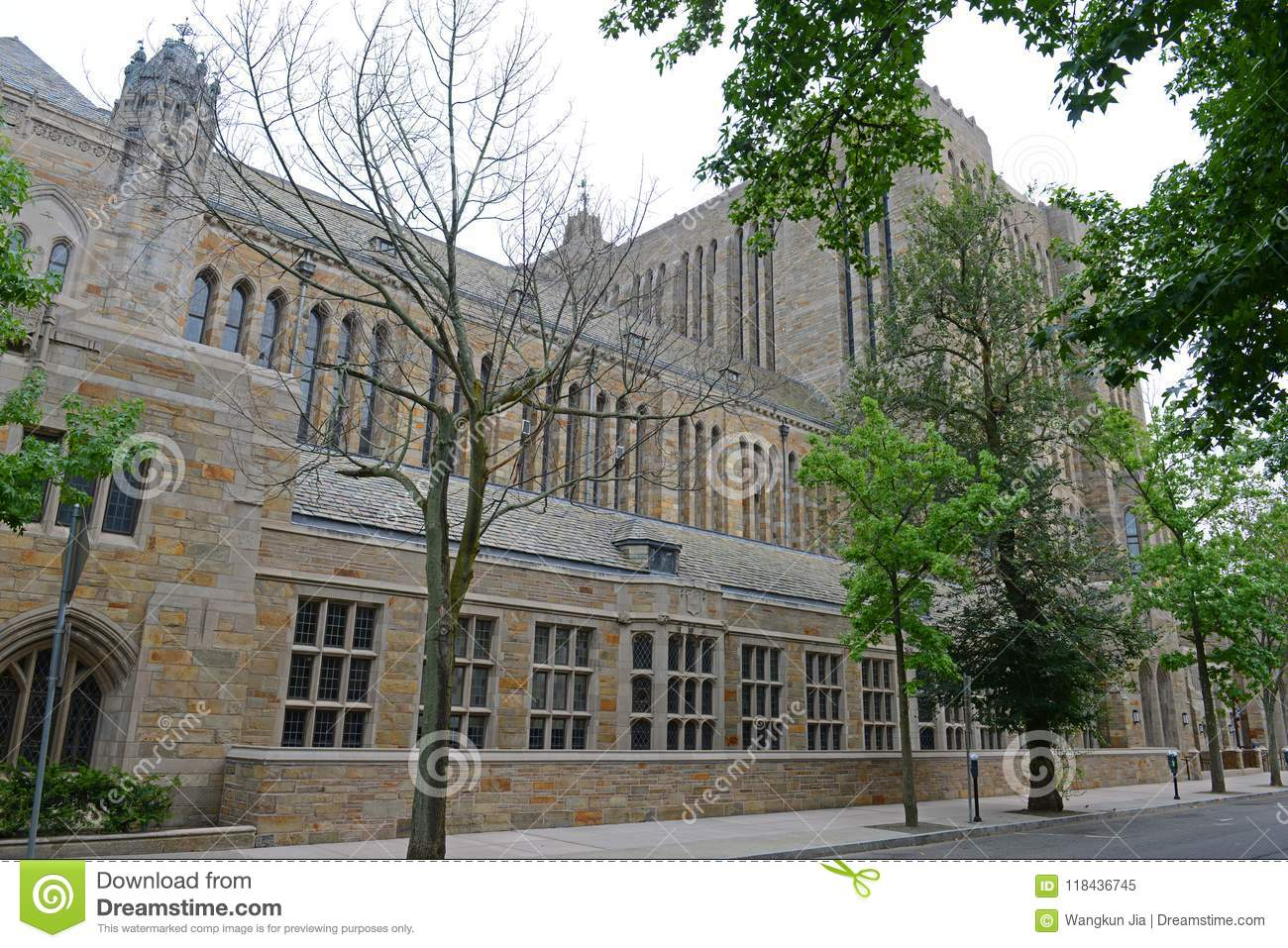 Sterling Memorial Library, Yale University, CT, EUA