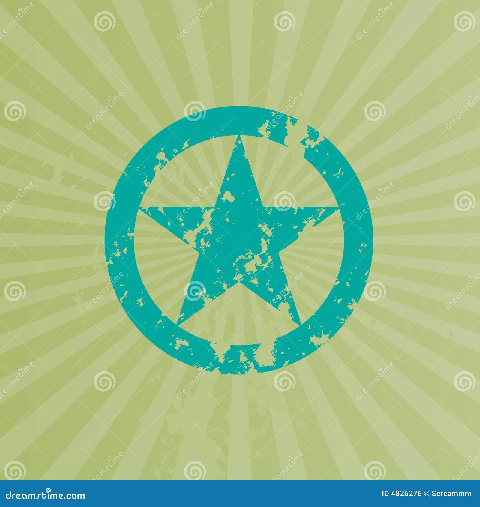 Stern-abstrakter Hintergrund