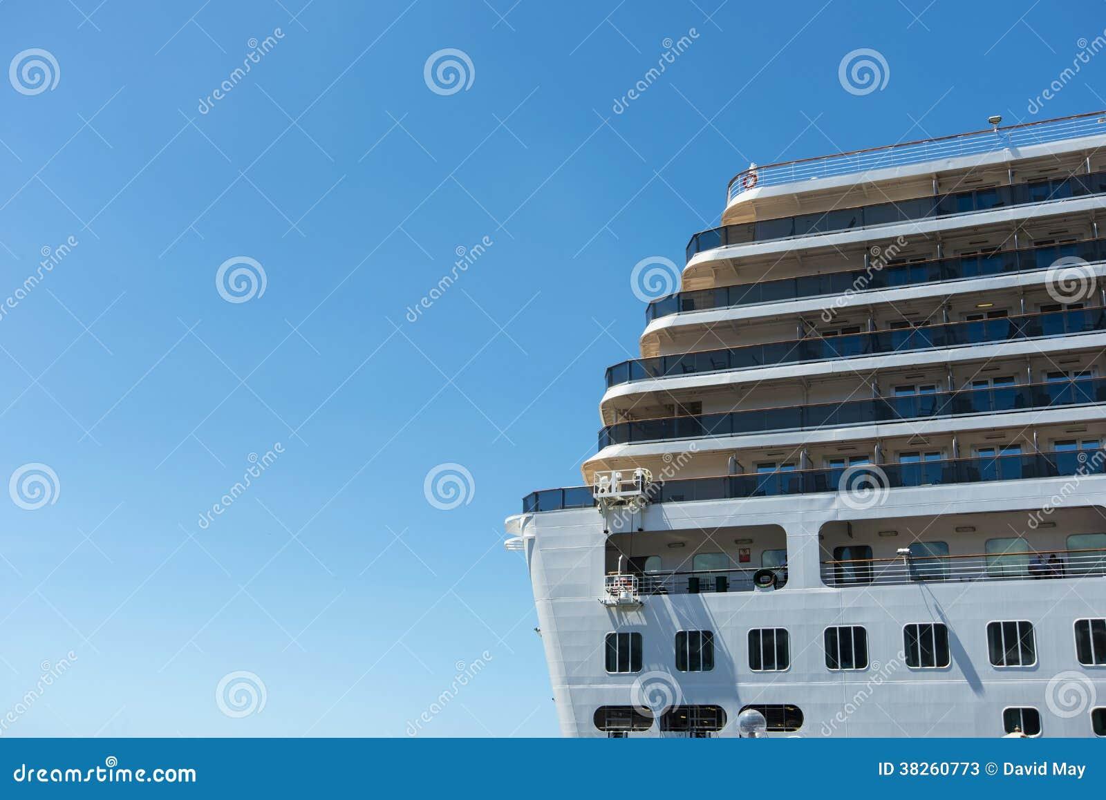 Stern Of Cruise Ship Stock Photos  Image 38260773