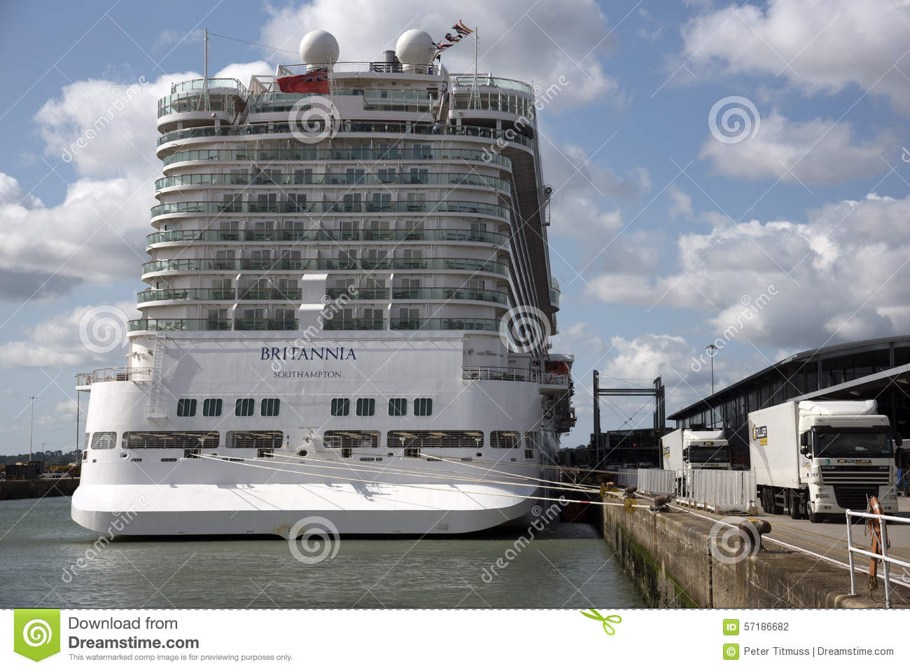Stern View Of Cabins On A Cruise Ship Editorial Photography - What is aft on a cruise ship