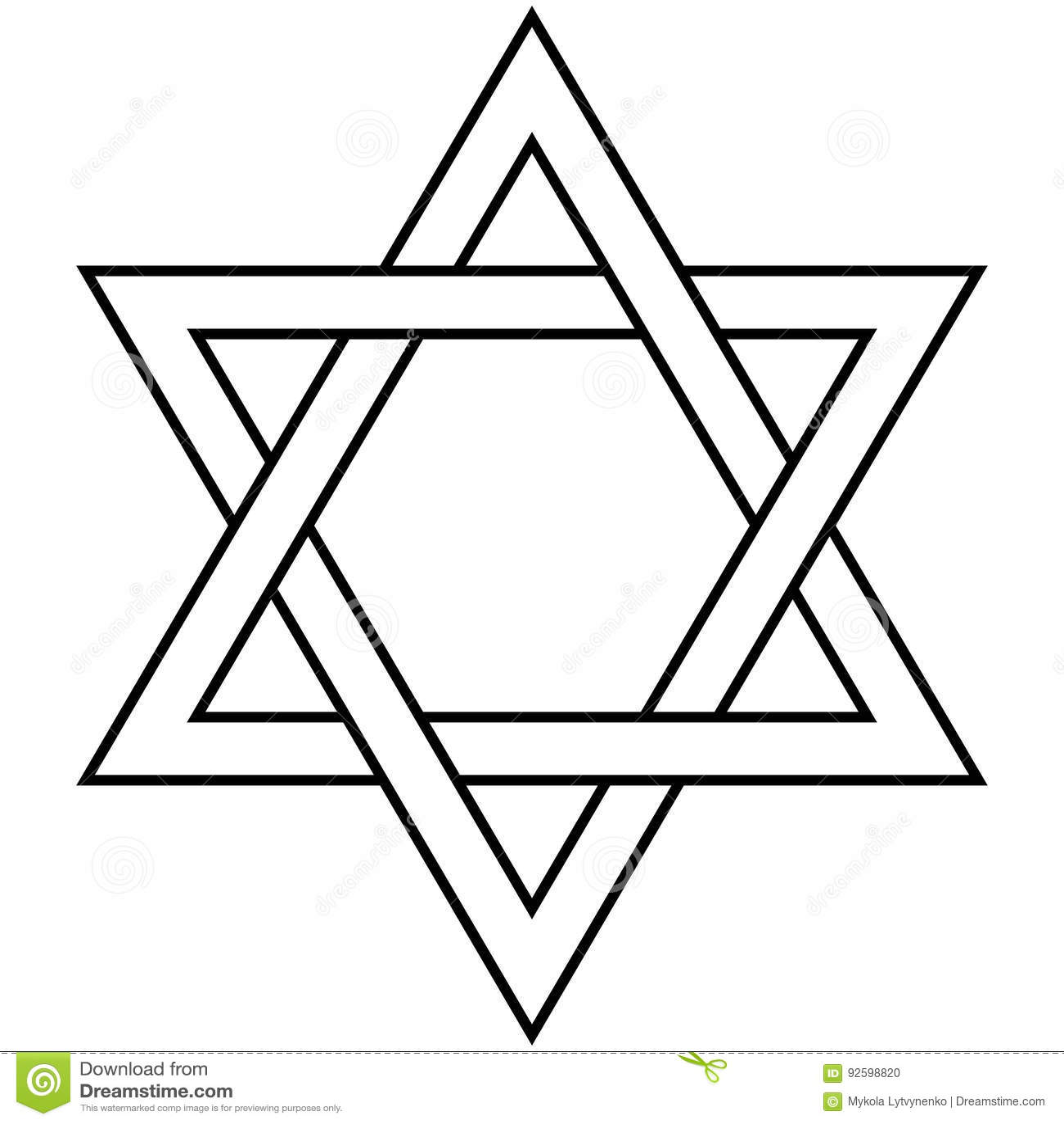 Juden Symbole