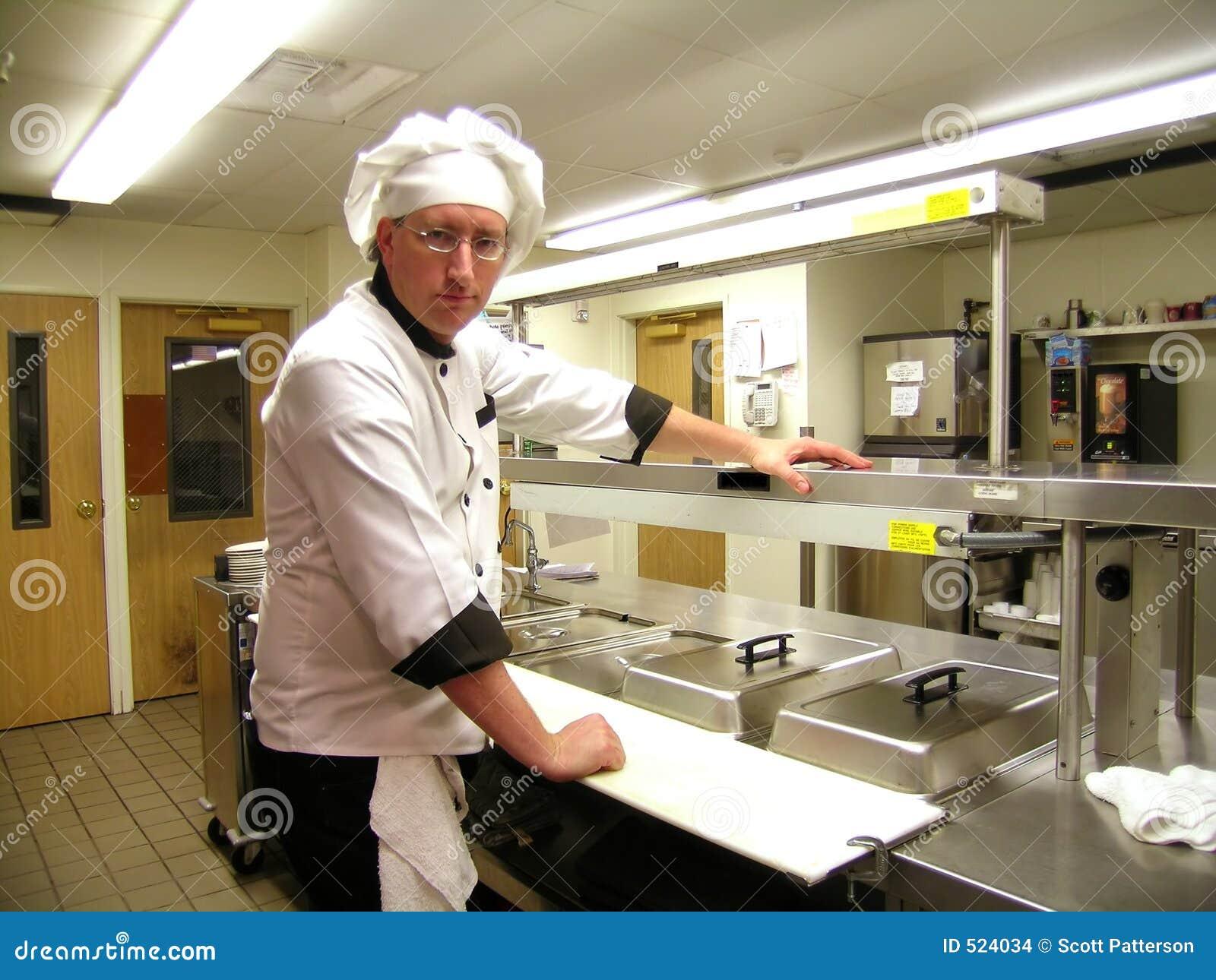 Stern wygląda szefa kuchni