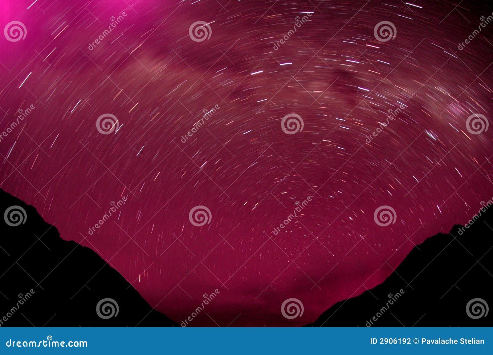 Sterne in den Bergen