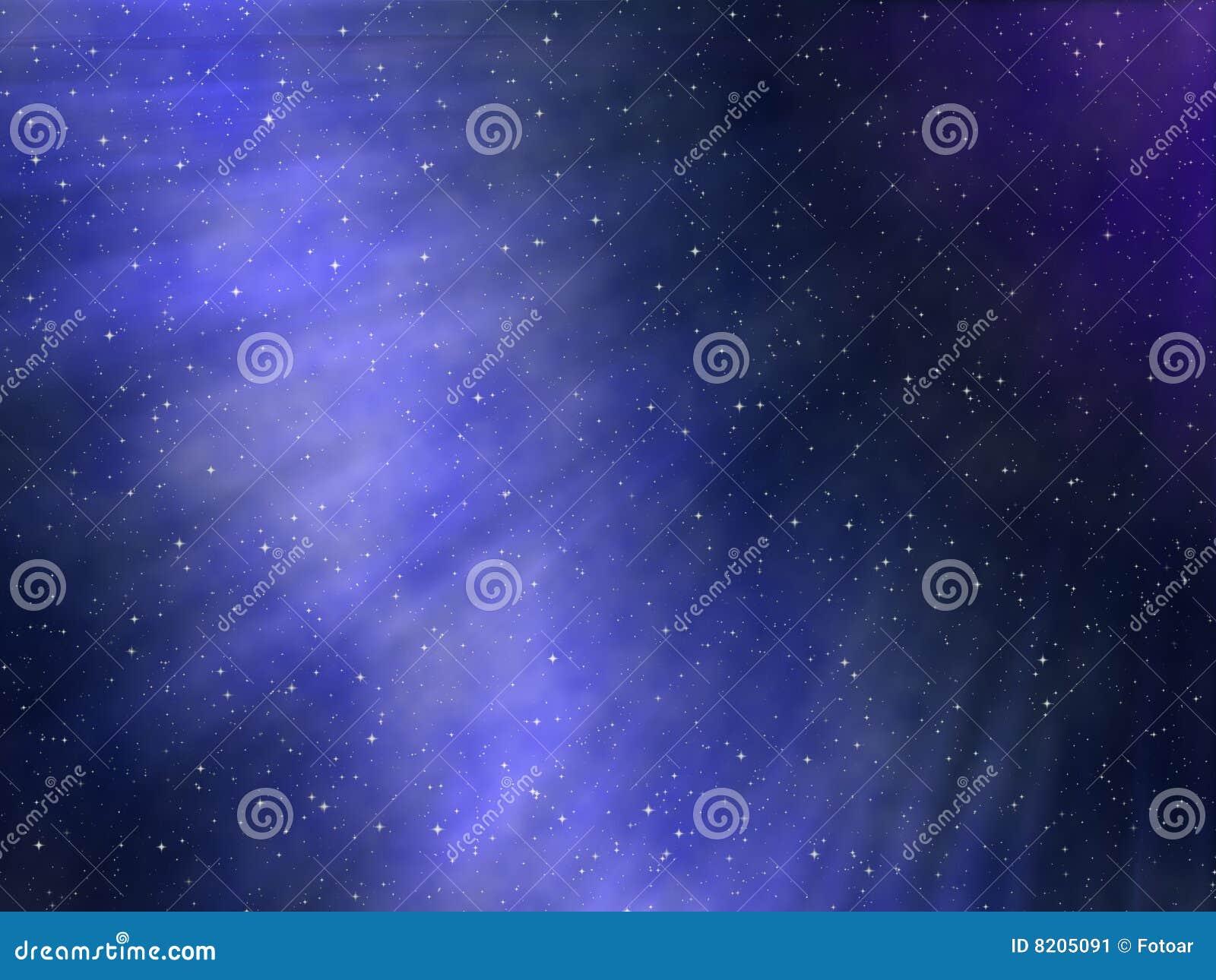 Sternenklarer nächtlicher Himmel