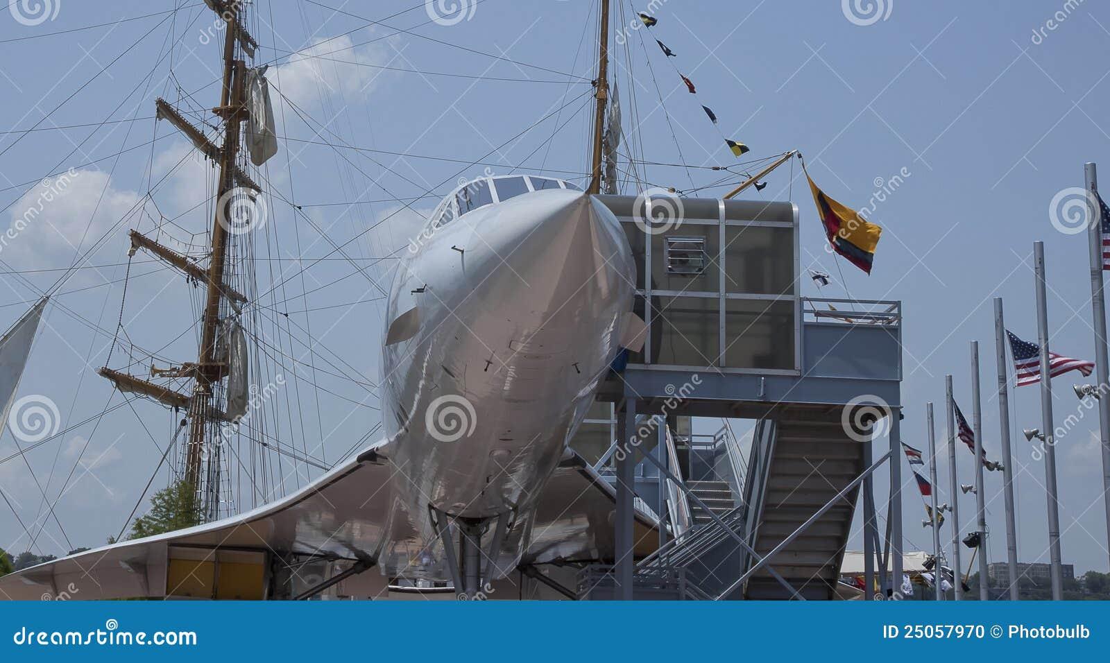 Sterowa zestawienia żeglowania statek naddźwiękowy