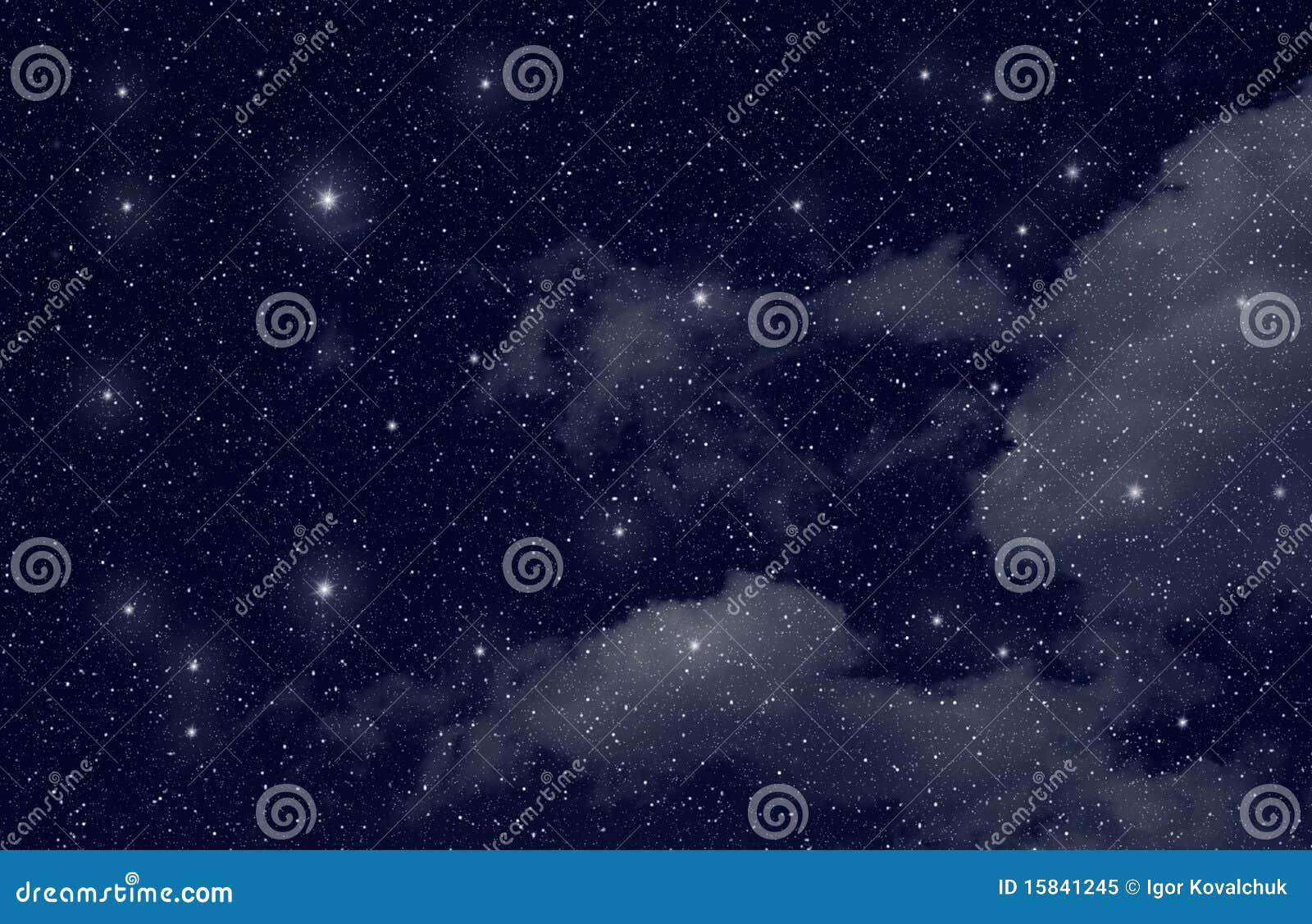 Sterren in de ruimte