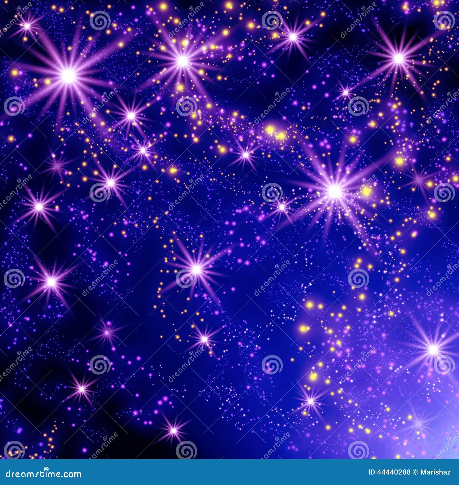 sterren de ruimte 44440288 - Sterren Behang