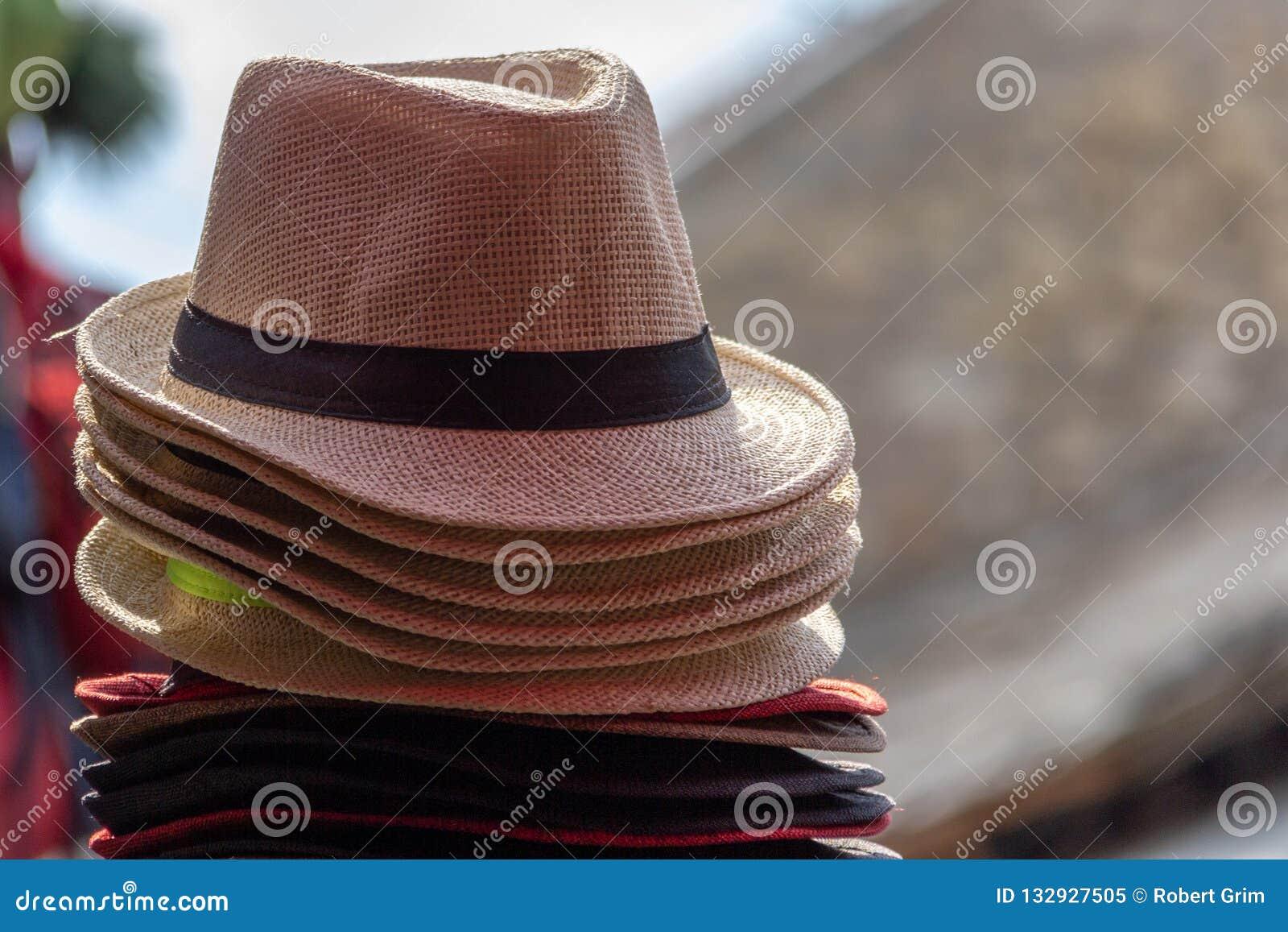 Sterta słomiani fedora kapelusze