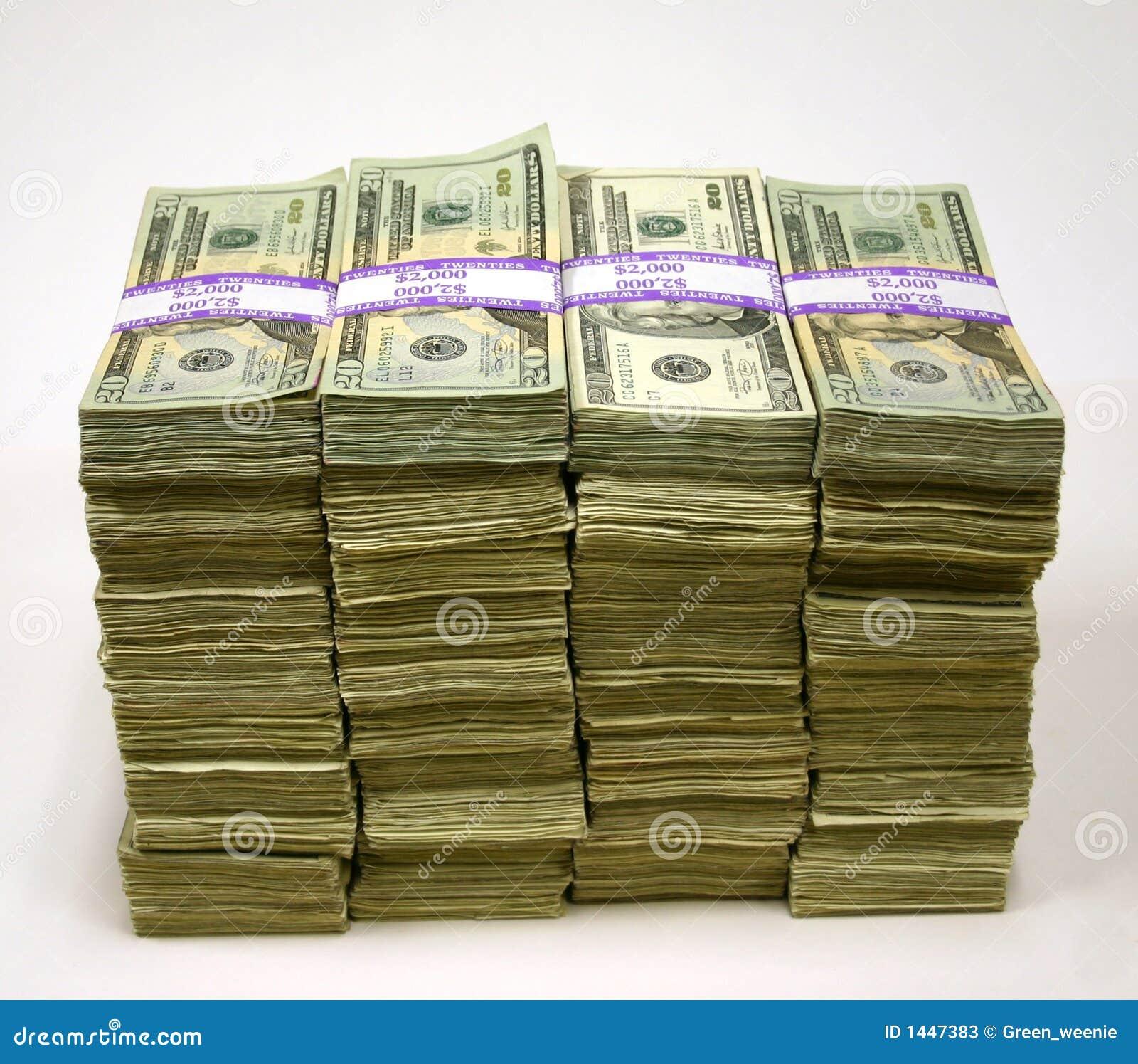 Sterty pieniędzy