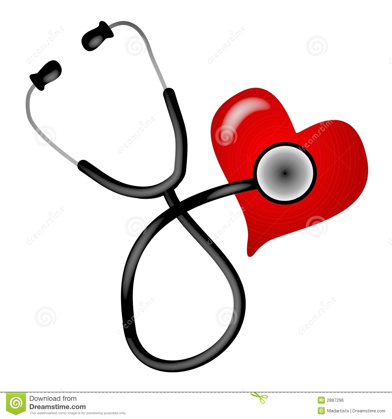 Clip Art Stethoscope Clip Art stethoscope stock illustrations 18048 heart illustration royalty free image